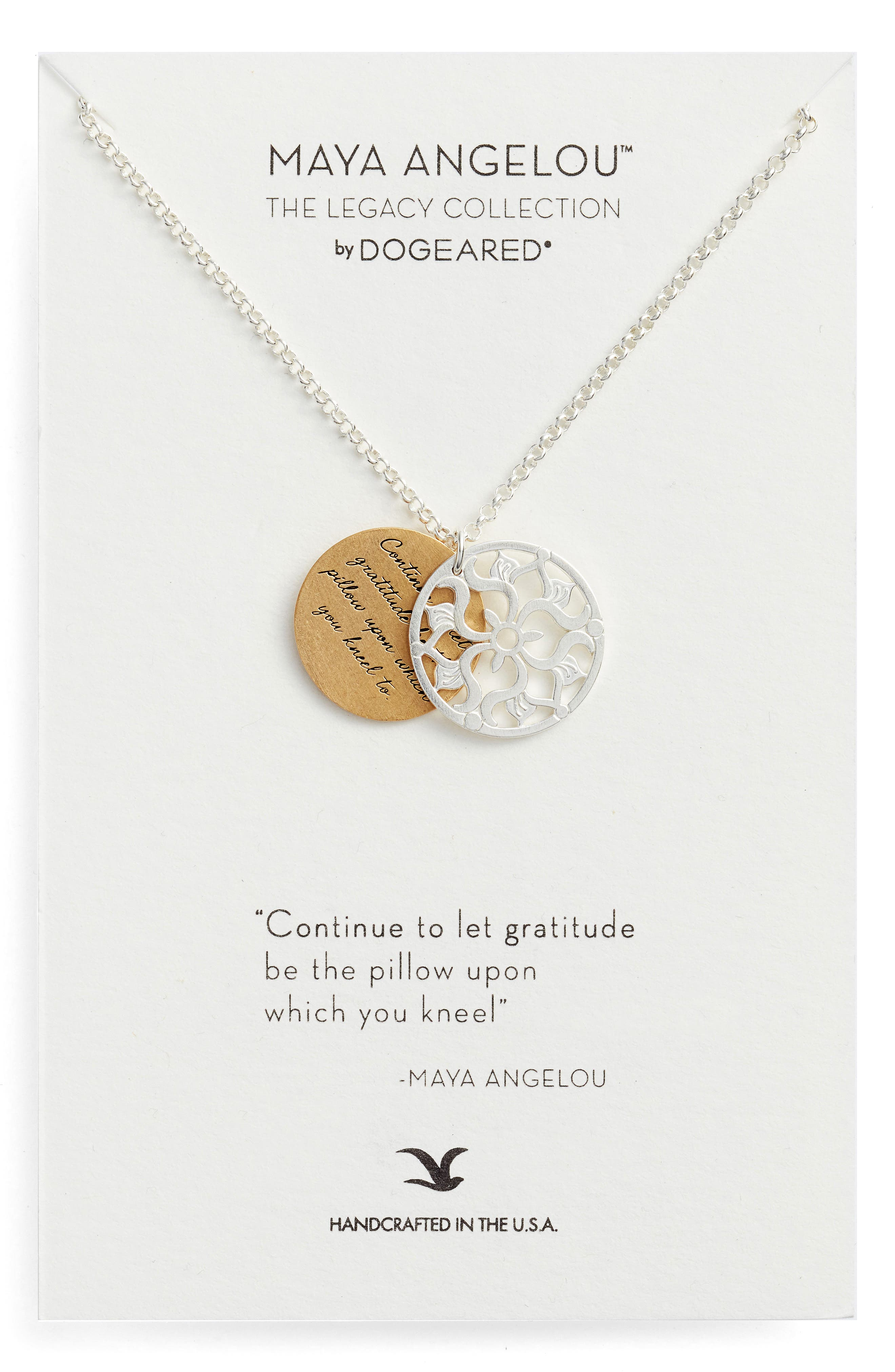 The Legacy Collection - Continue to Let Gratitude... Pendant Necklace,                             Main thumbnail 1, color,                             040