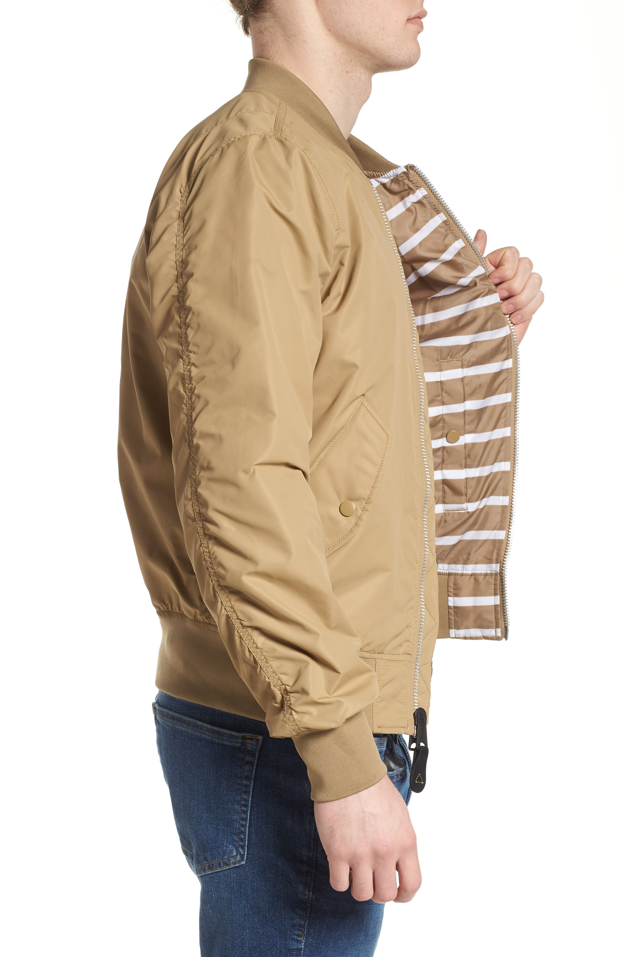 LB-2 Scout Reversible Flight Jacket,                             Alternate thumbnail 18, color,