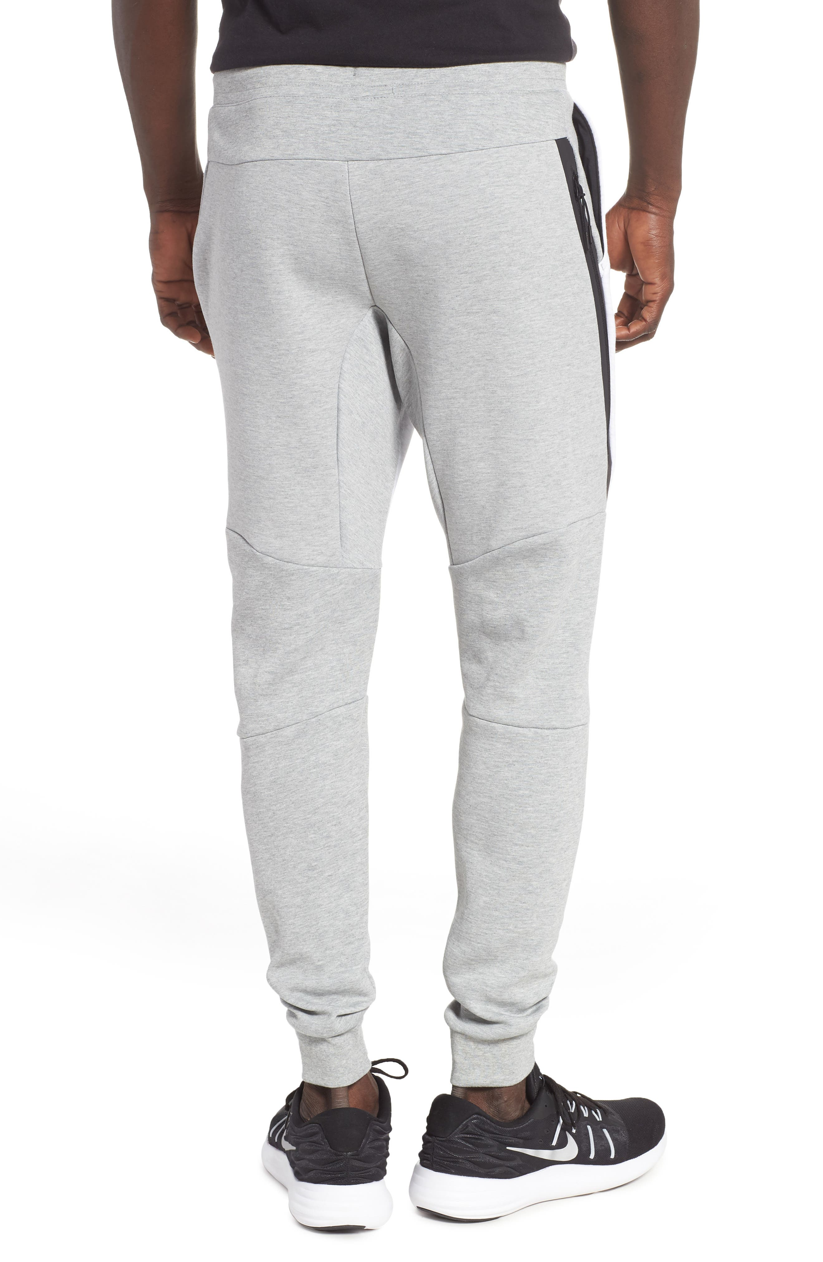 Tech Fleece Jogger Pants,                             Alternate thumbnail 2, color,                             HEATHER/ BIRCH HEATHER/ BLACK