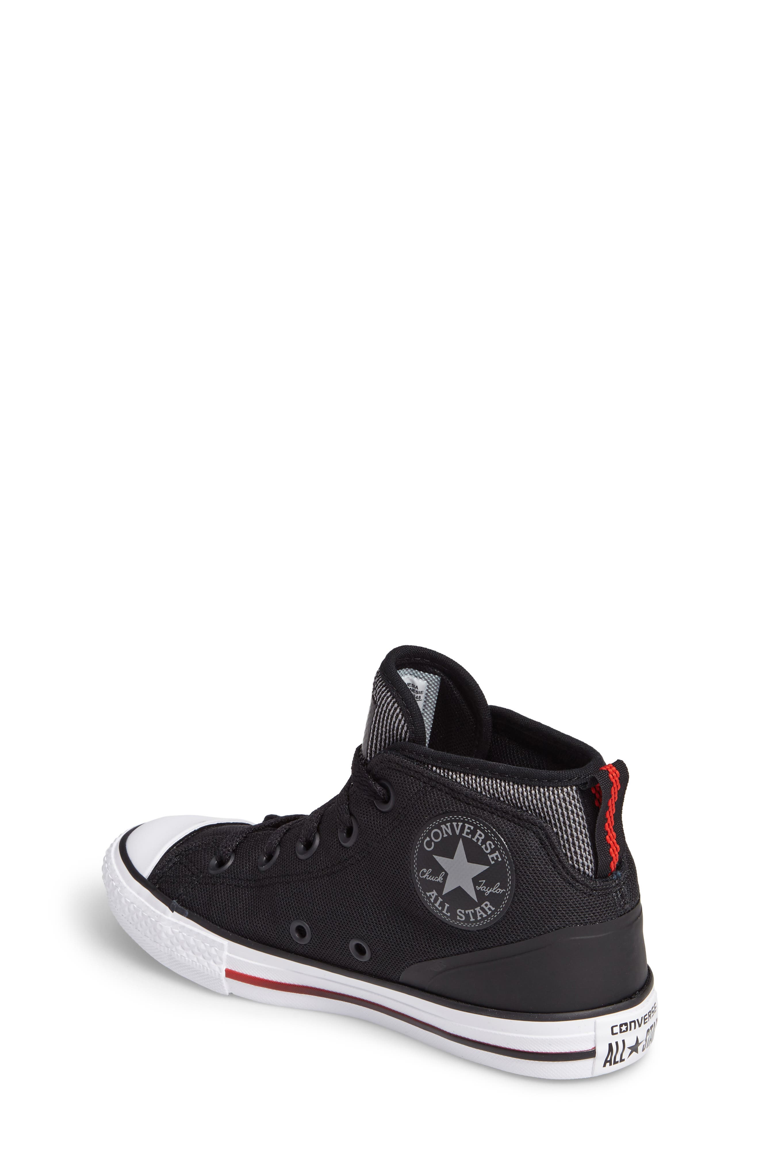 Chuck Taylor<sup>®</sup> All Star<sup>®</sup> Syde Street High Top Sneaker,                             Alternate thumbnail 4, color,