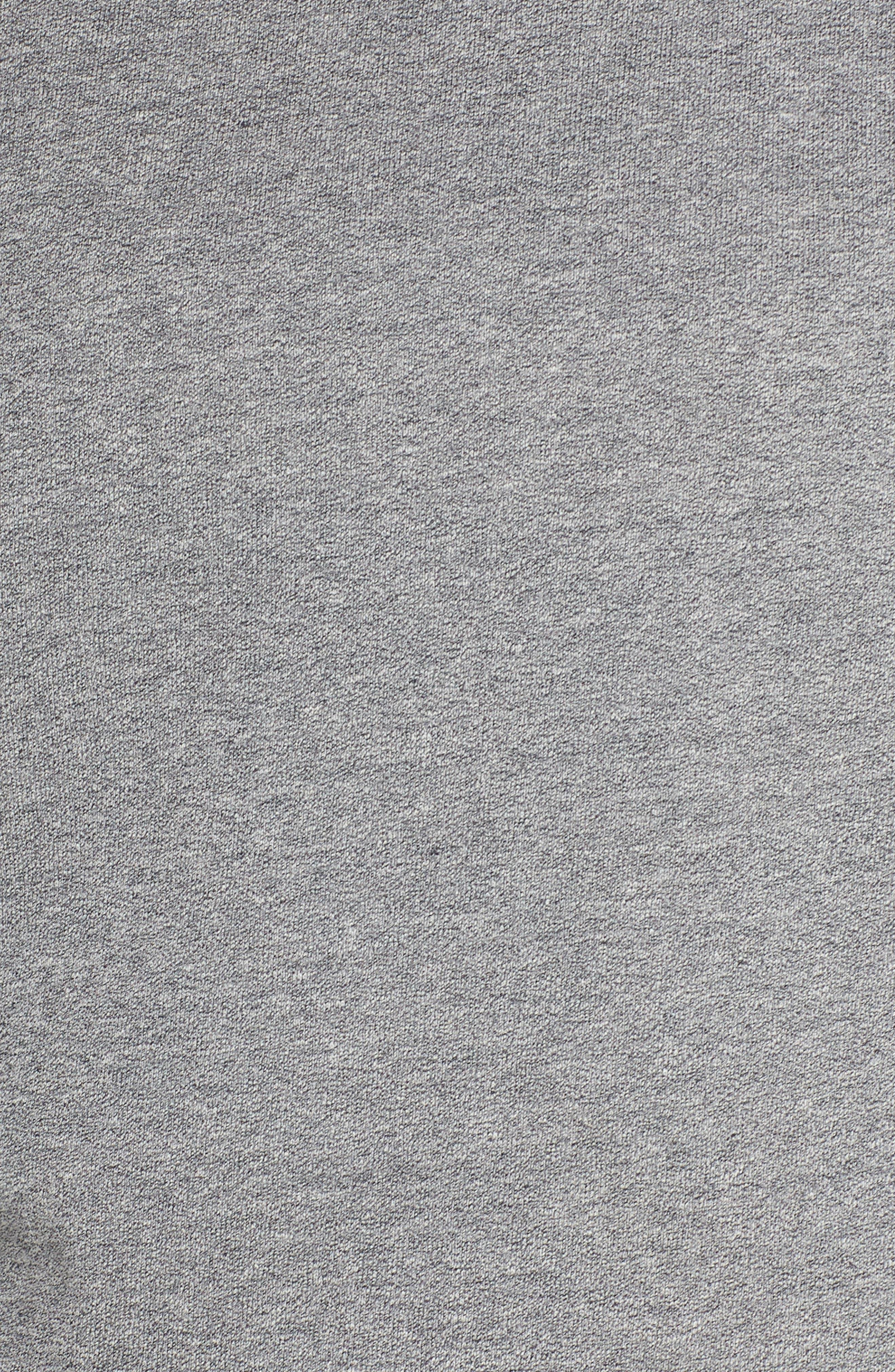 Weymouth Sweatshirt,                             Alternate thumbnail 6, color,                             DARK GREY