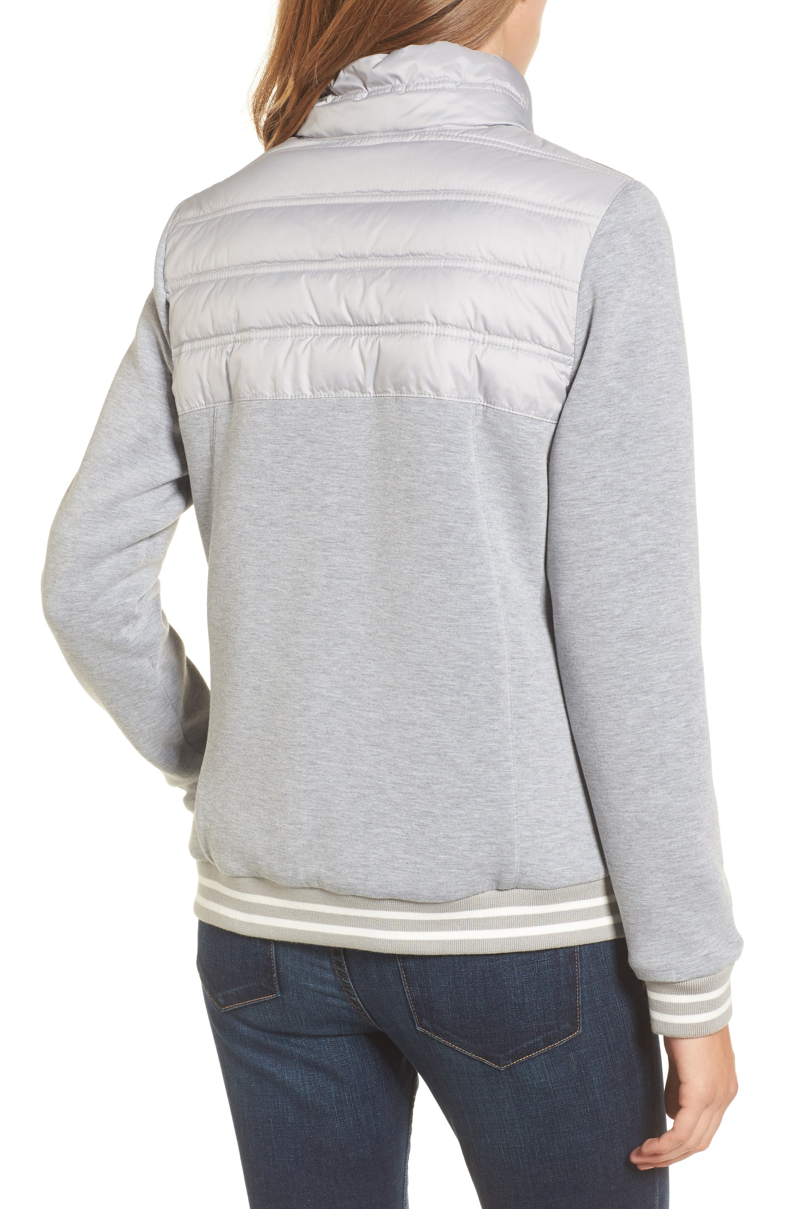 Selsey Zip Sweater,                             Alternate thumbnail 3, color,