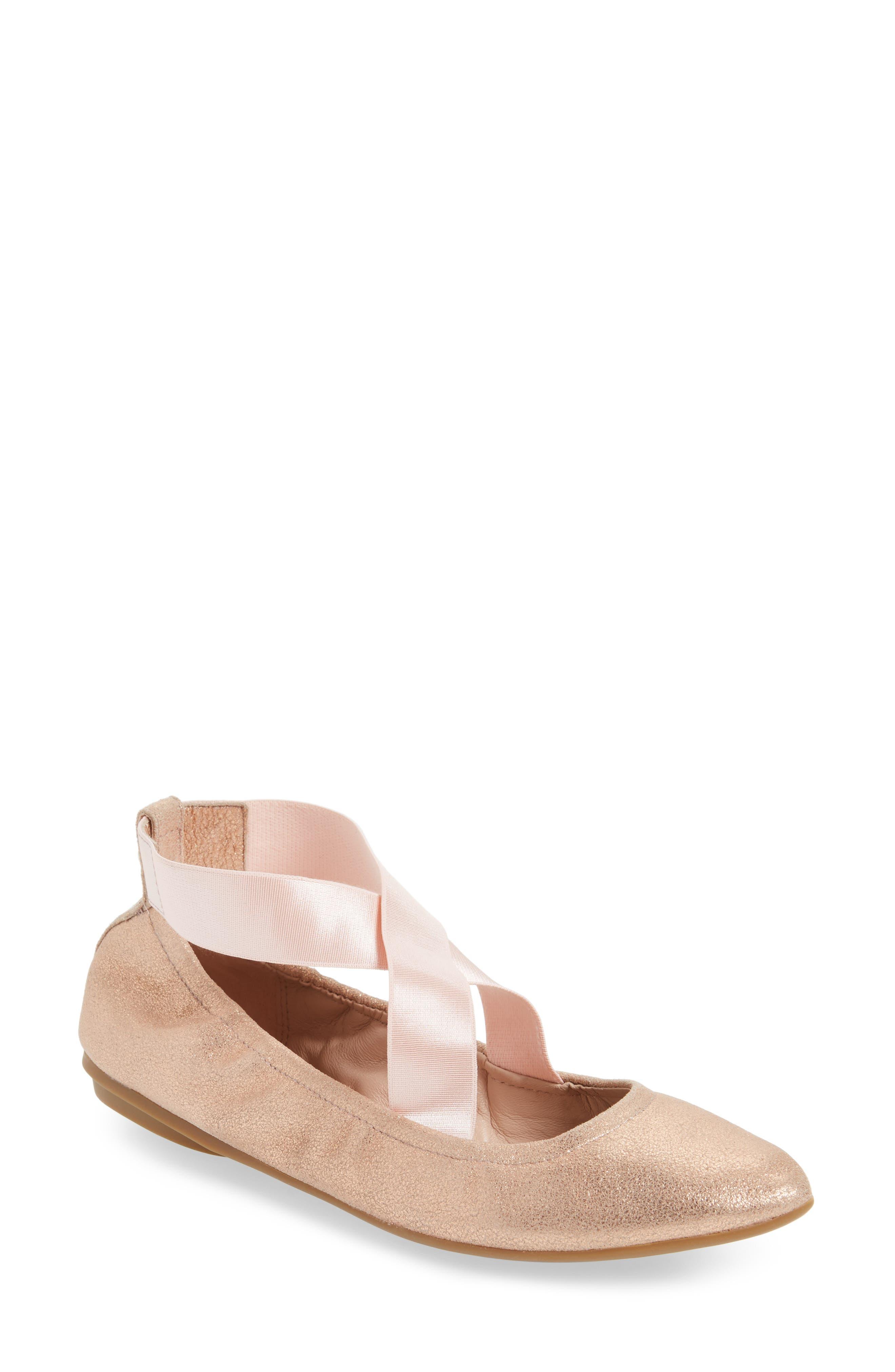 Edina Strappy Ballet Flat,                             Main thumbnail 4, color,