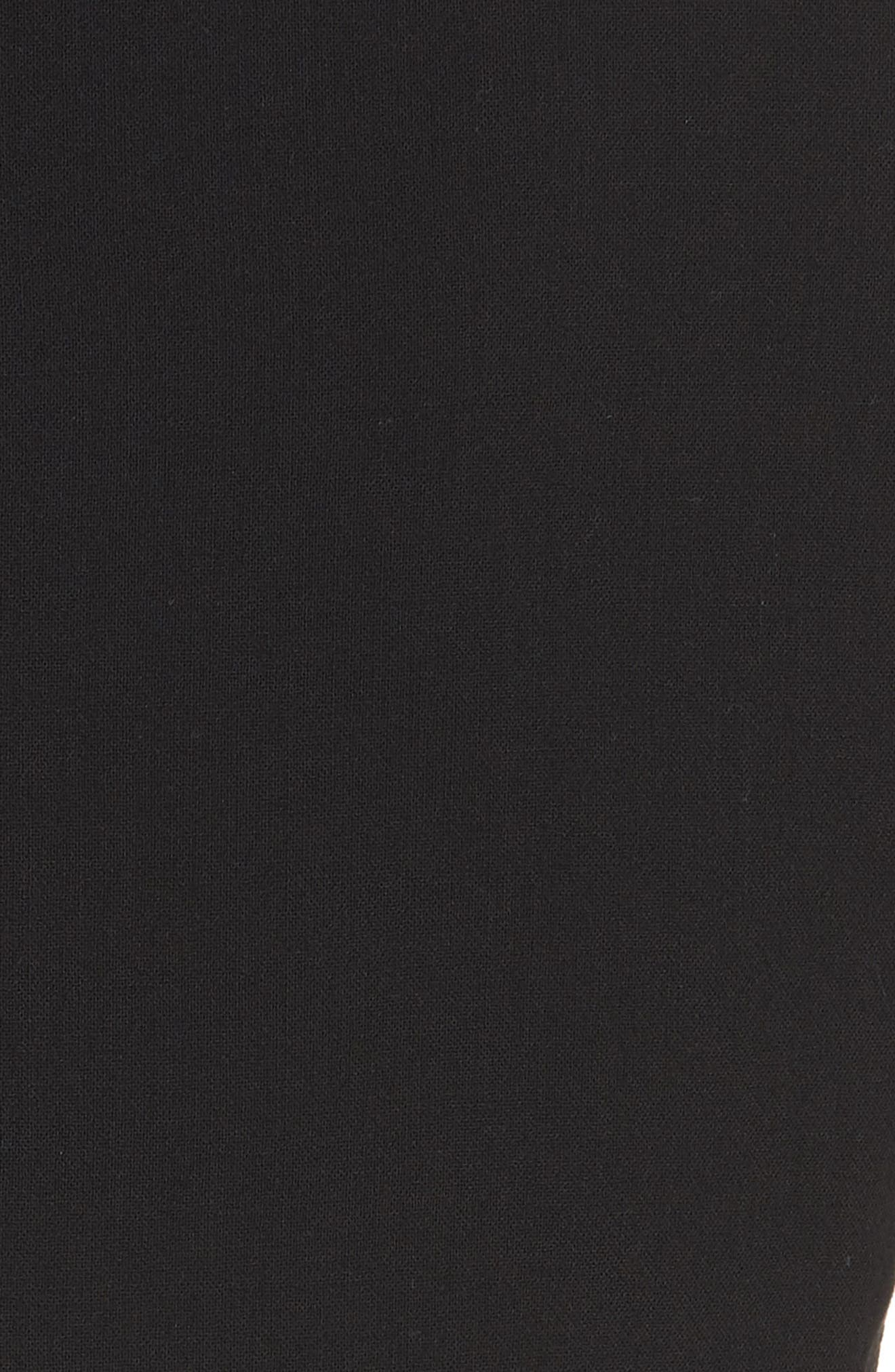 Ilke Double Face Wool Blend Jacket,                             Alternate thumbnail 8, color,                             BLACK