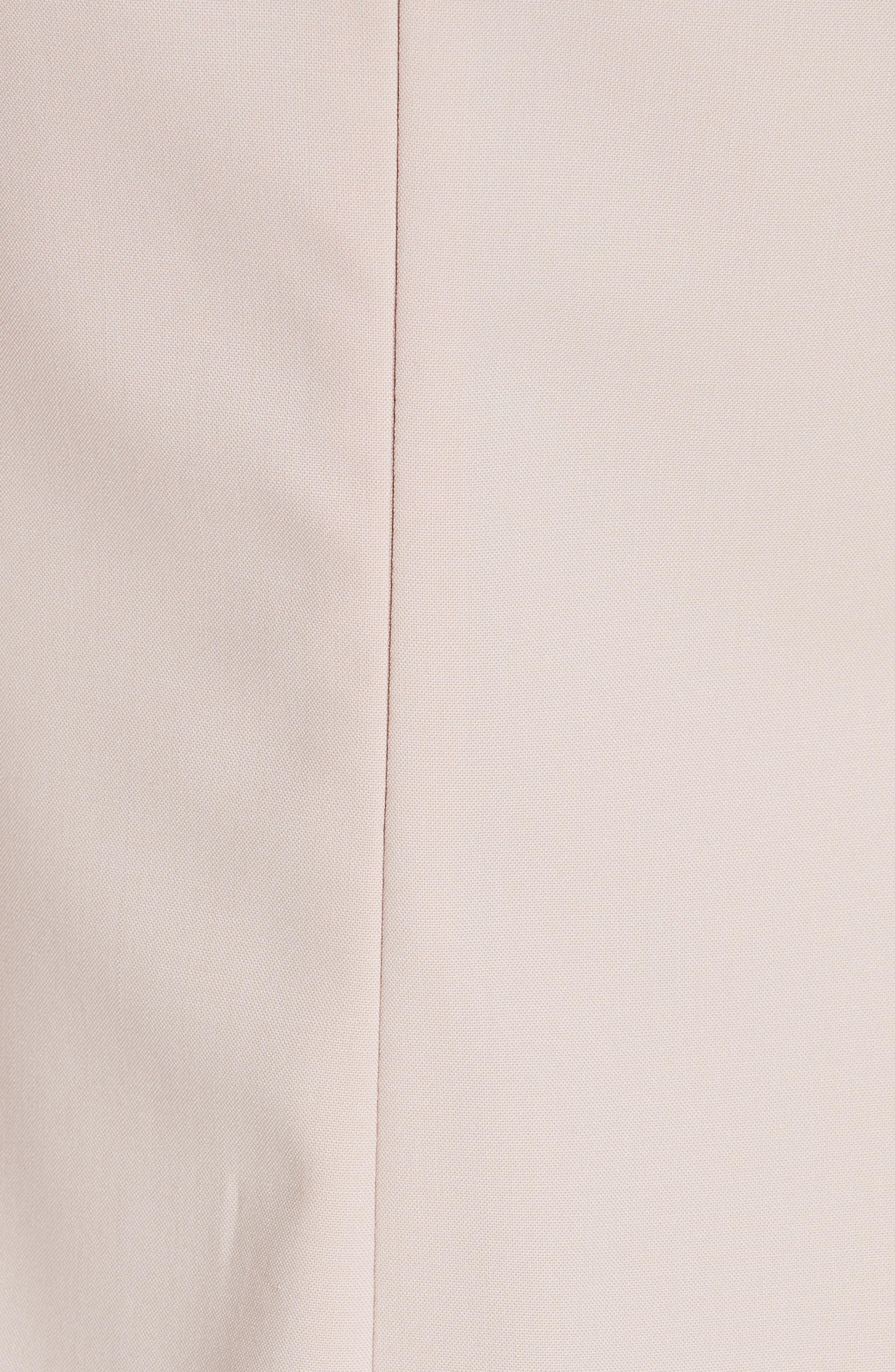 Eano Good Wool Sheath Dress,                             Alternate thumbnail 5, color,                             650