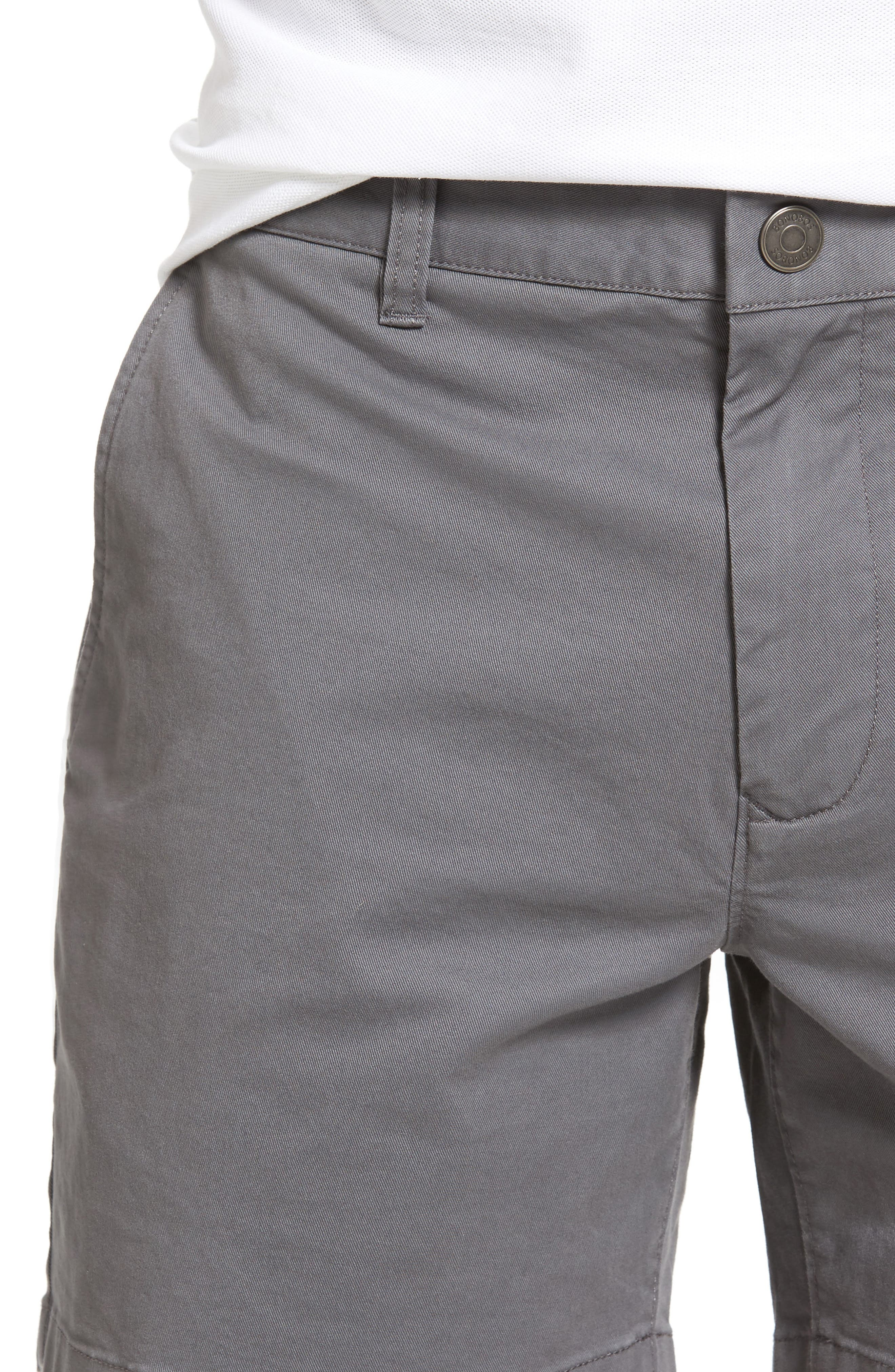 Stretch Washed Chino 5-Inch Shorts,                             Alternate thumbnail 104, color,