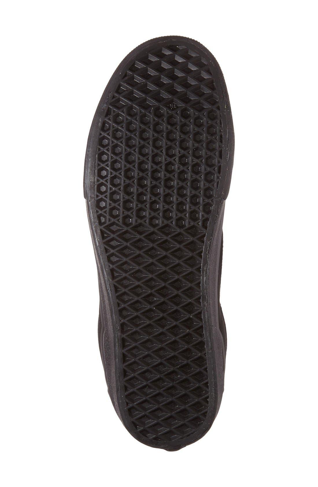 'Sk8-HiReissue' Sneaker,                             Alternate thumbnail 4, color,                             001
