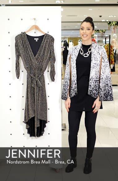 Metallic Tie Waist Dress, sales video thumbnail