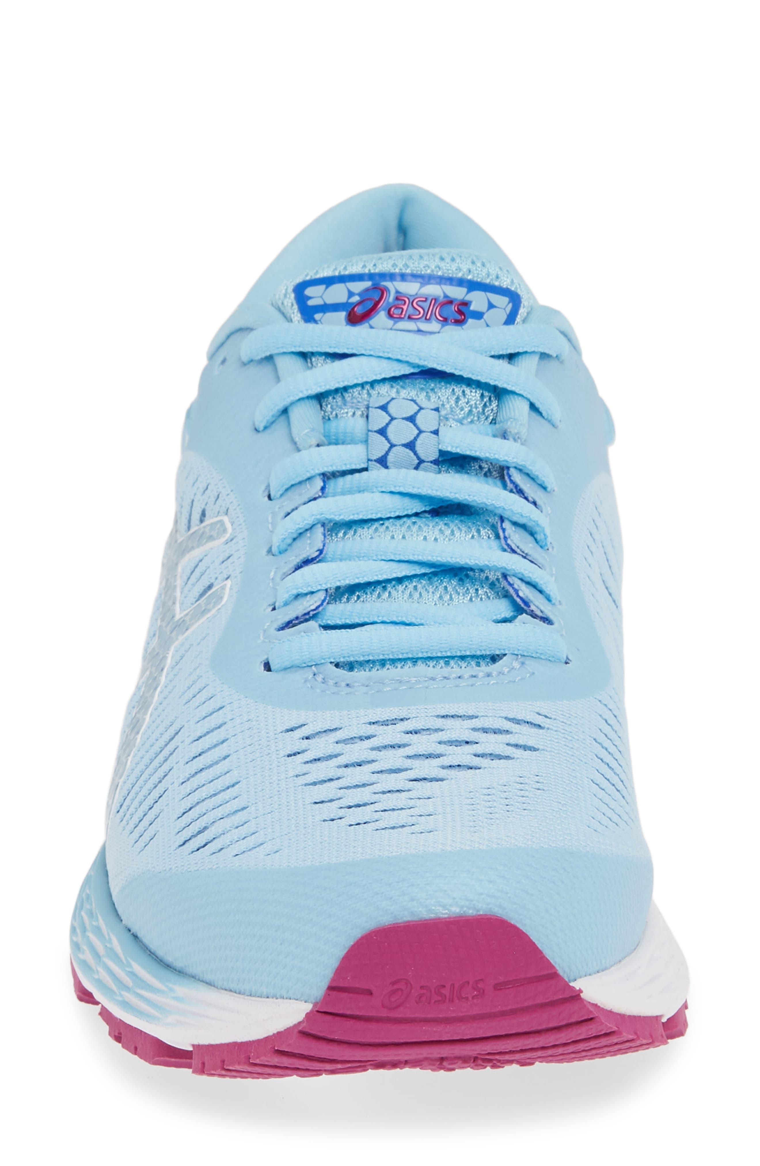 GEL-Kayano<sup>®</sup> 25 Running Shoe,                             Alternate thumbnail 4, color,                             SKYLIGHT/ ILLUSION BLUE