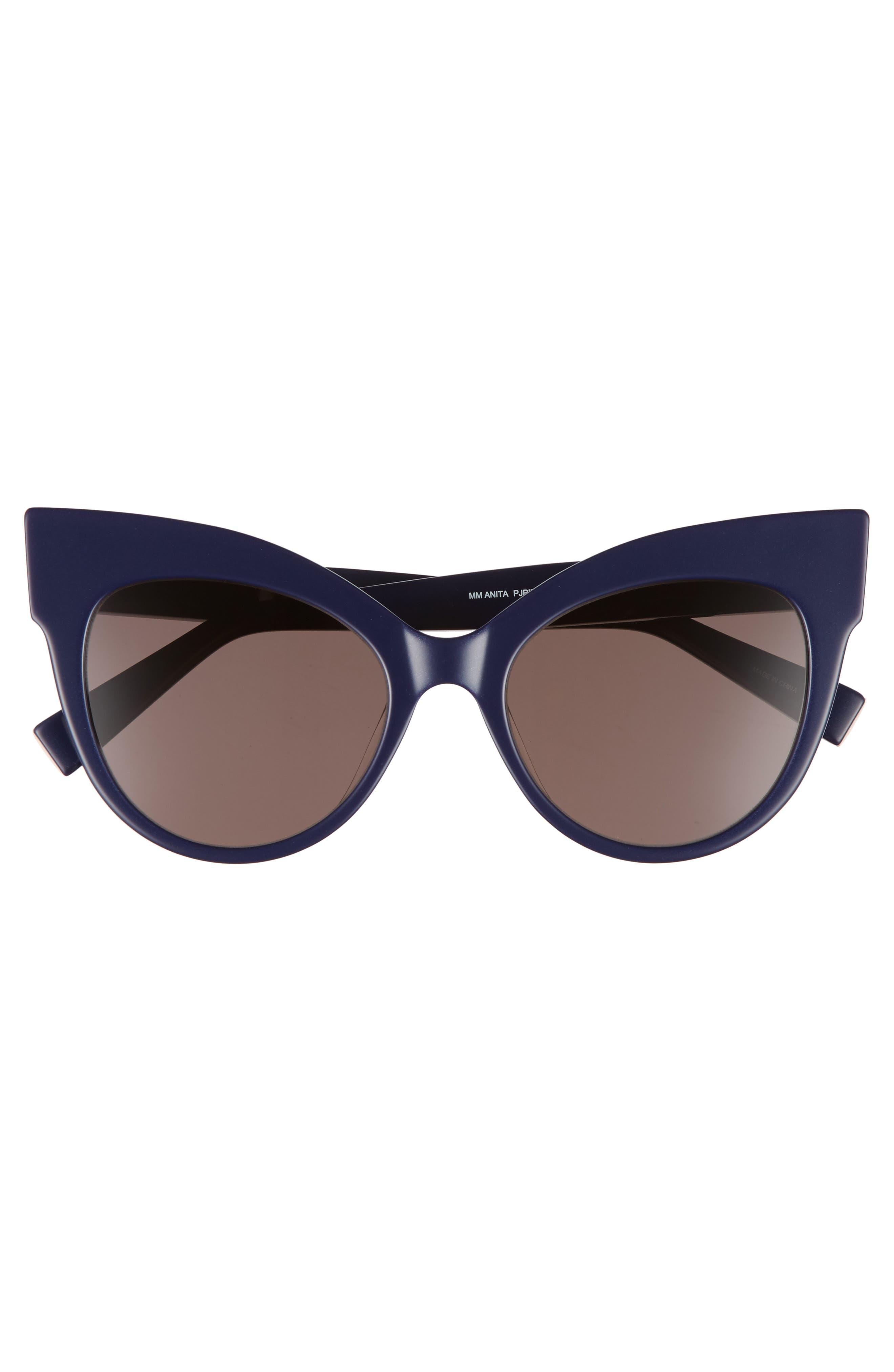 Anita 52mm Cat Eye Sunglasses,                             Alternate thumbnail 11, color,