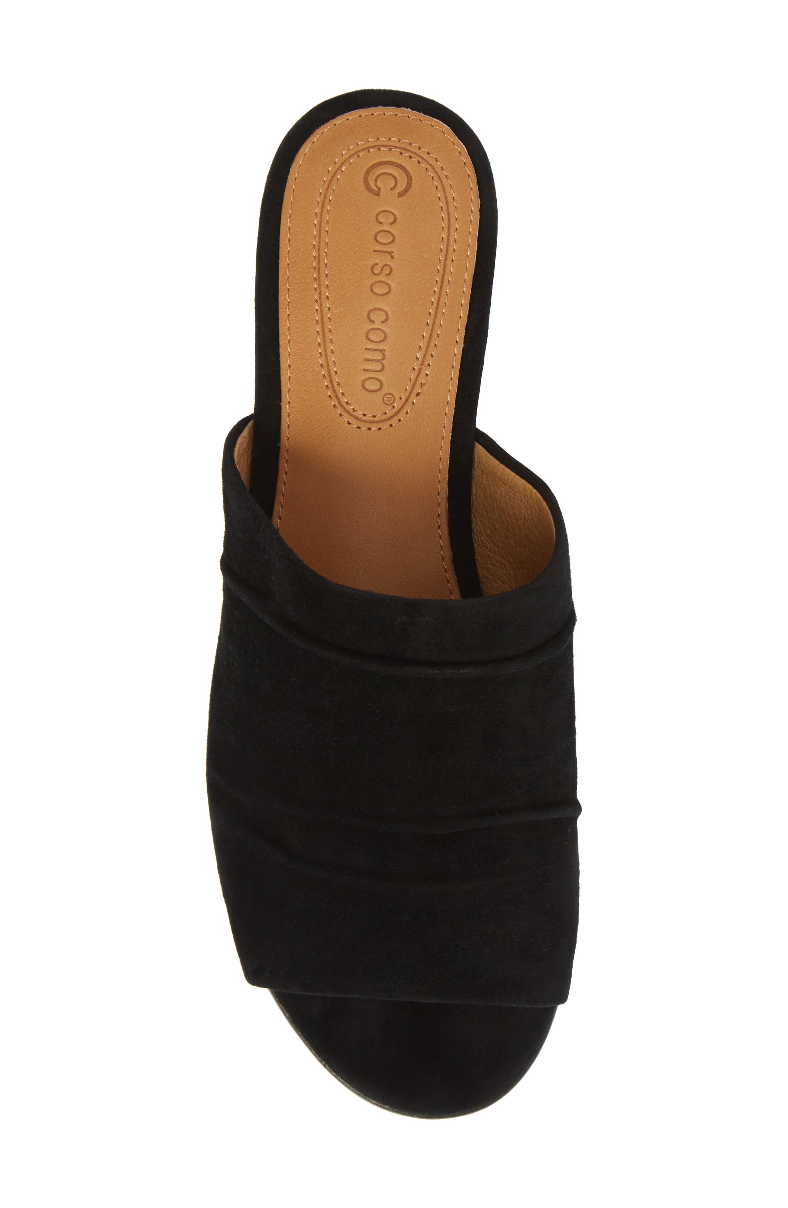 CC CORSO COMO<SUP>®</SUP>,                             Beachaven Slide Sandal,                             Alternate thumbnail 5, color,                             BLACK SUEDE
