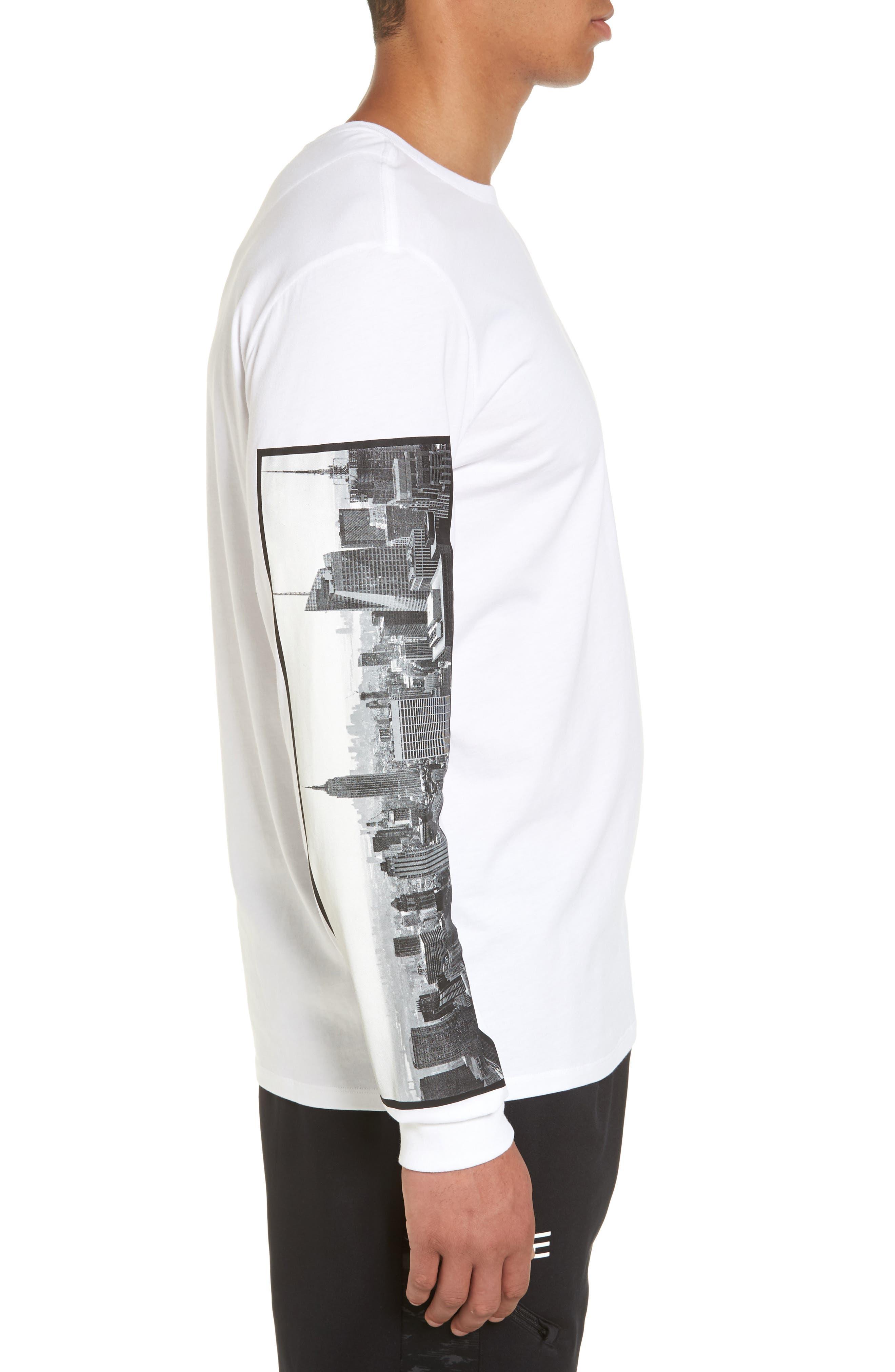 Air Force 1 Long Sleeve T-Shirt,                             Alternate thumbnail 8, color,