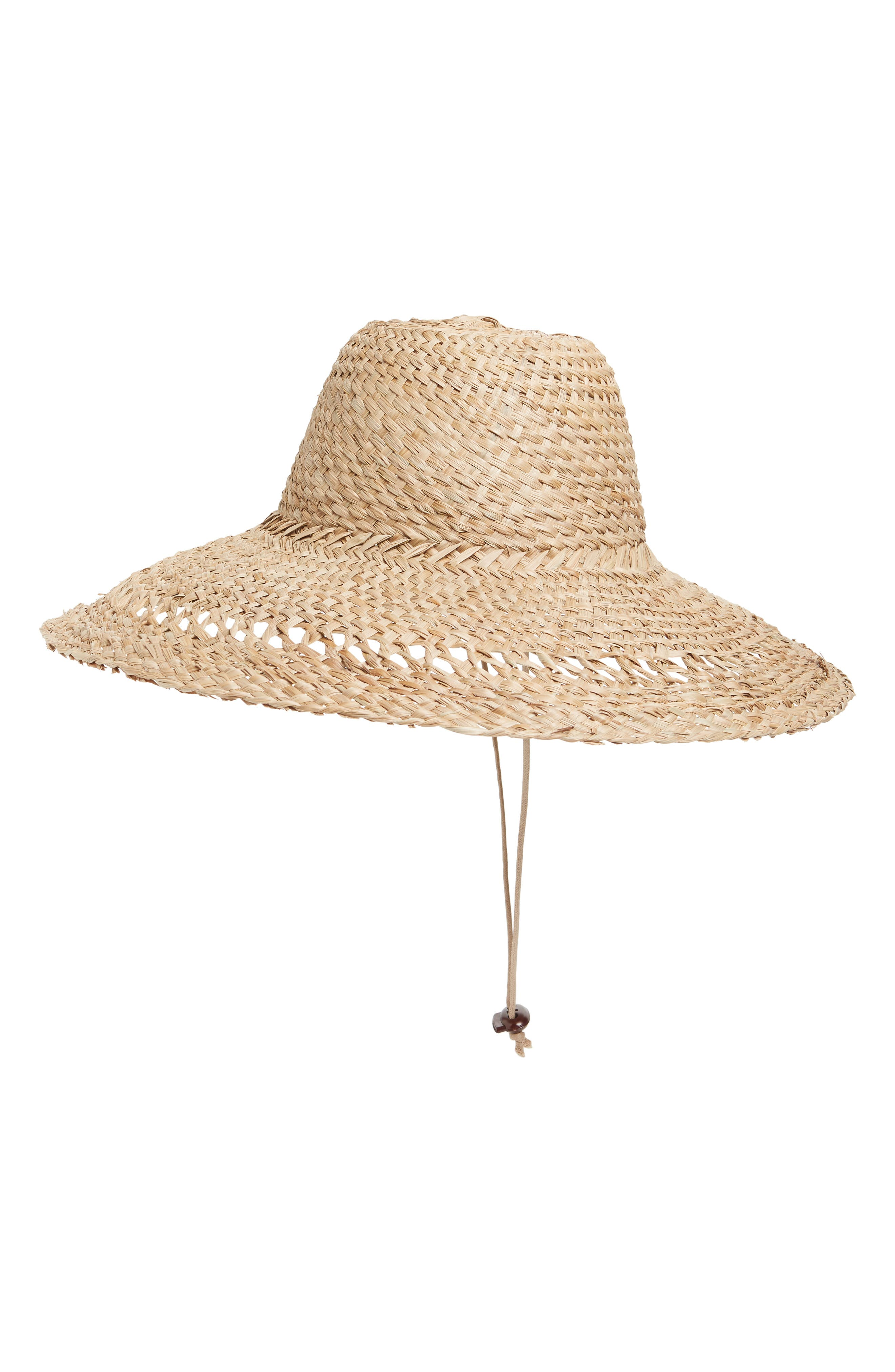 LACK OF COLOR Palm Canyon Floppy Hat - Brown in Natural