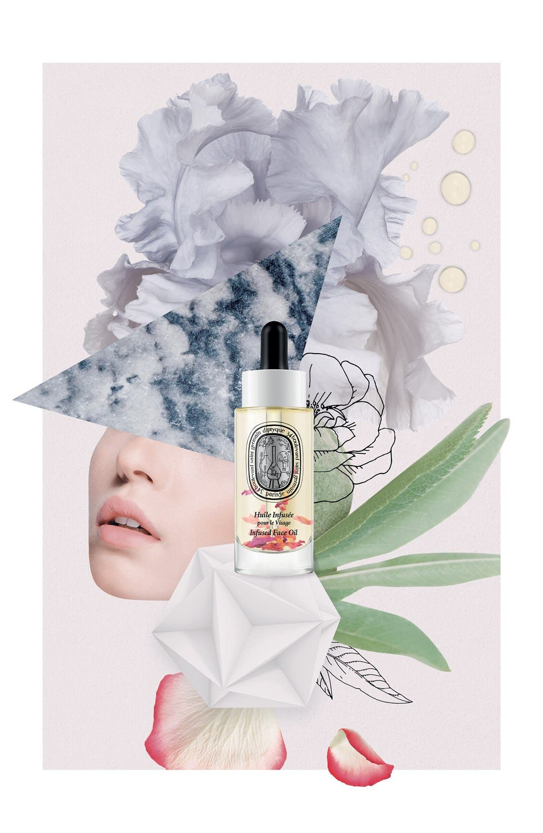 DIPTYQUE,                             Infused Face Oil,                             Alternate thumbnail 2, color,                             NO COLOR
