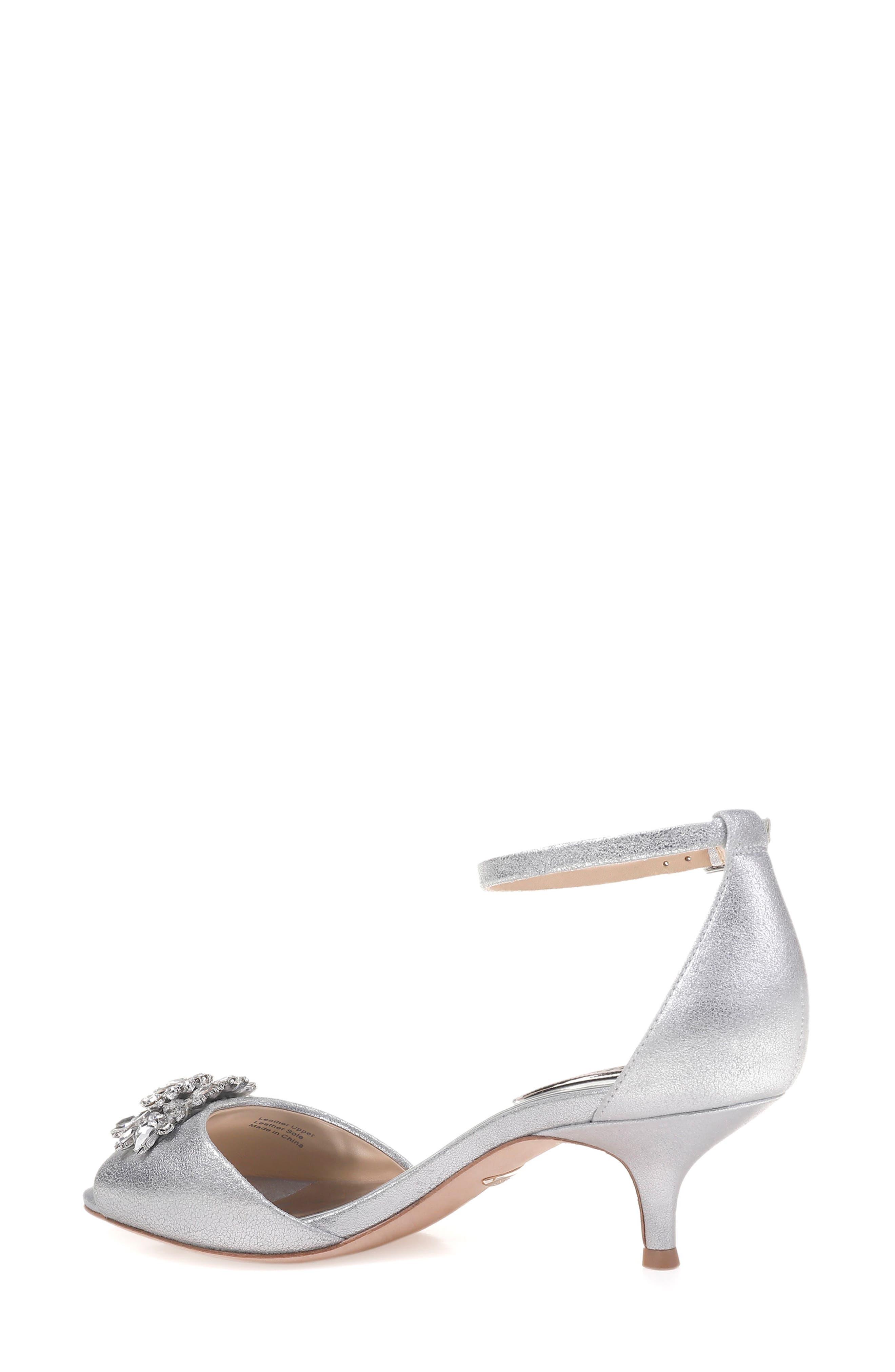 Sainte Crystal Embellished Sandal,                             Alternate thumbnail 6, color,
