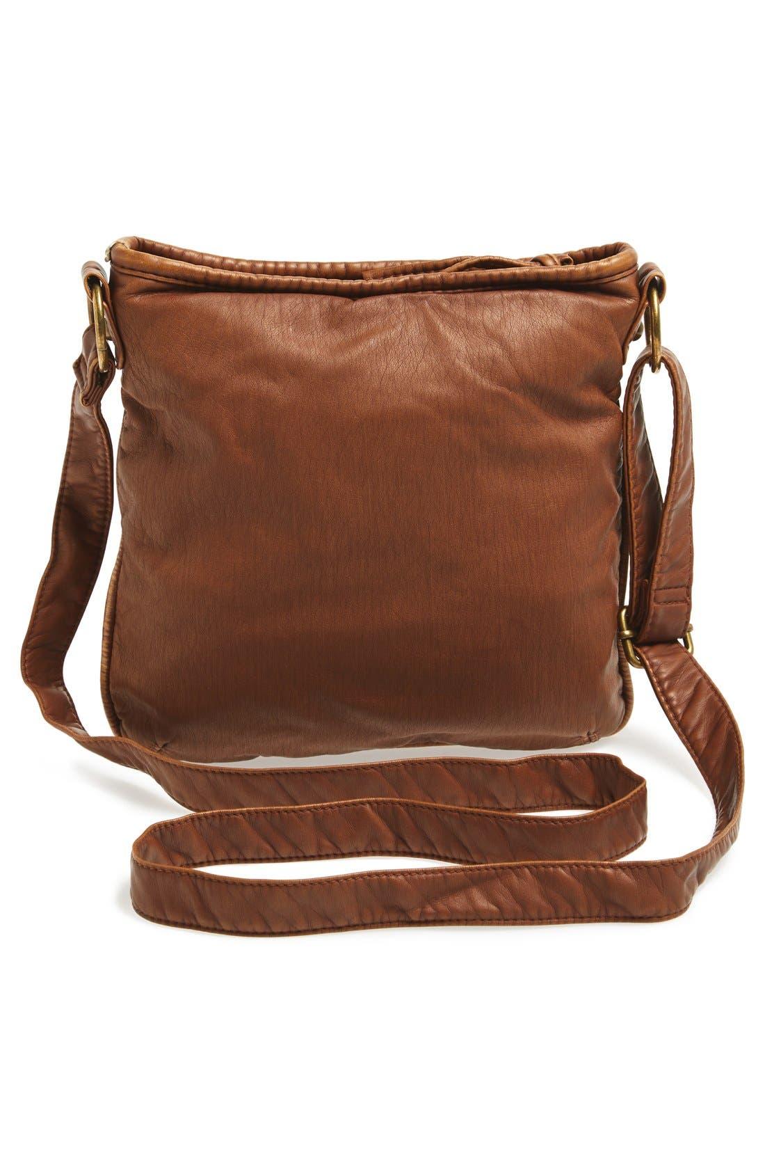 Washed Mini Crossbody Bag,                             Alternate thumbnail 3, color,                             200