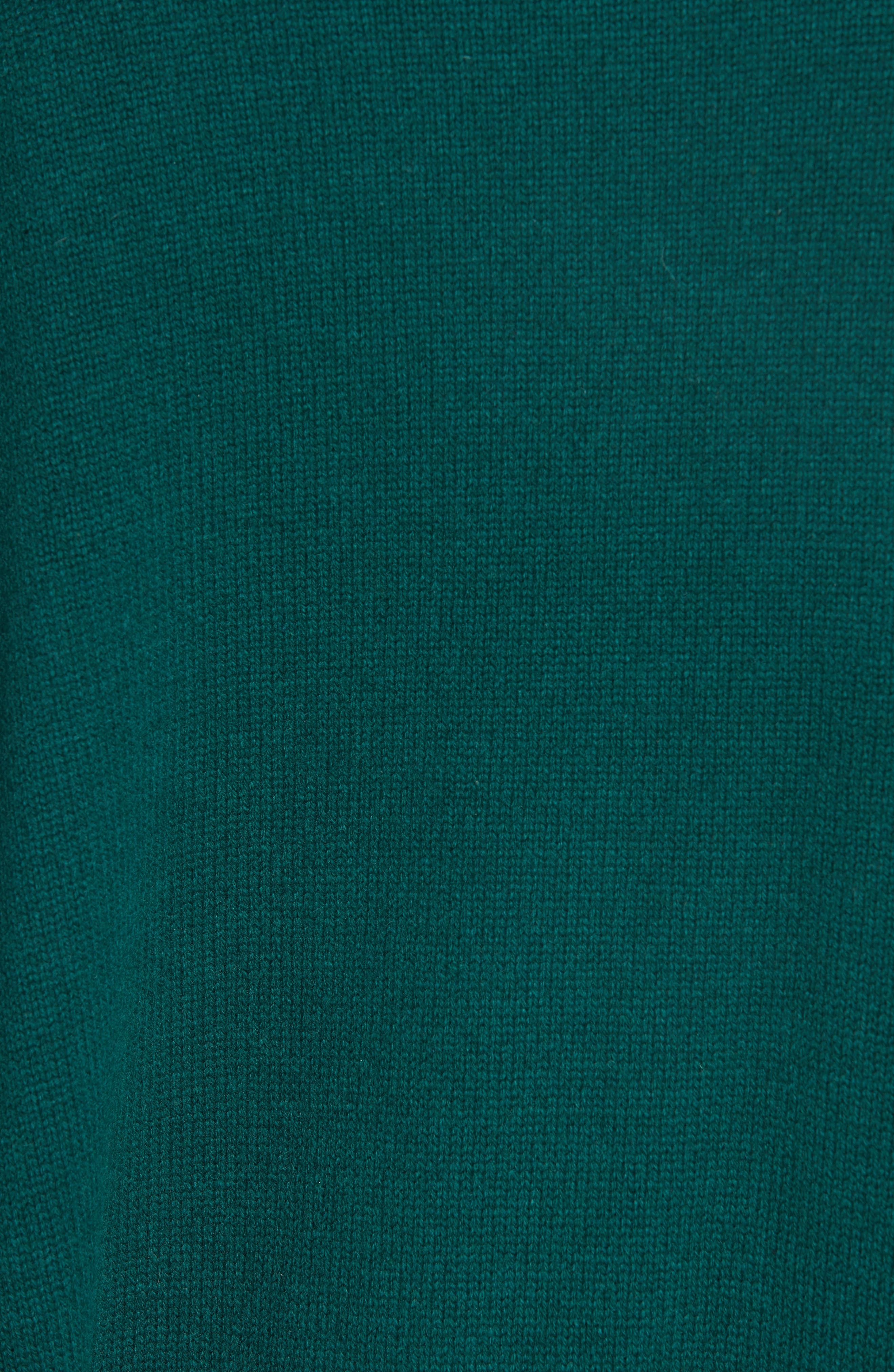 Cashmere & Wool Blend Oversize Sweater,                             Alternate thumbnail 5, color,                             PINE