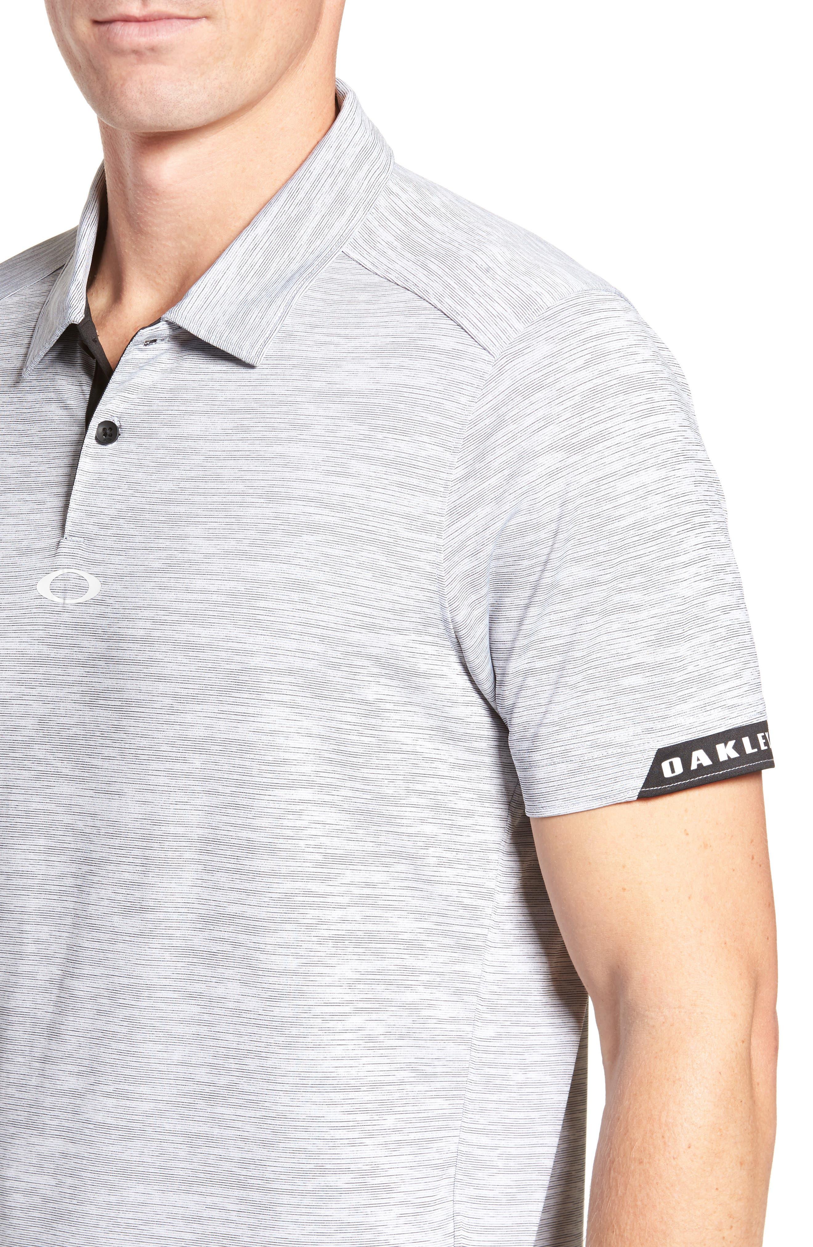 Gravity Polo Shirt,                             Alternate thumbnail 4, color,                             BLACKOUT