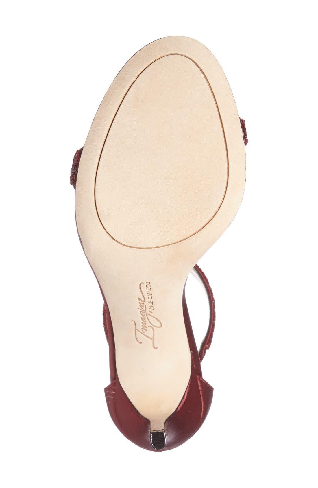 'Phoebe' Embellished T-Strap Sandal,                             Alternate thumbnail 88, color,