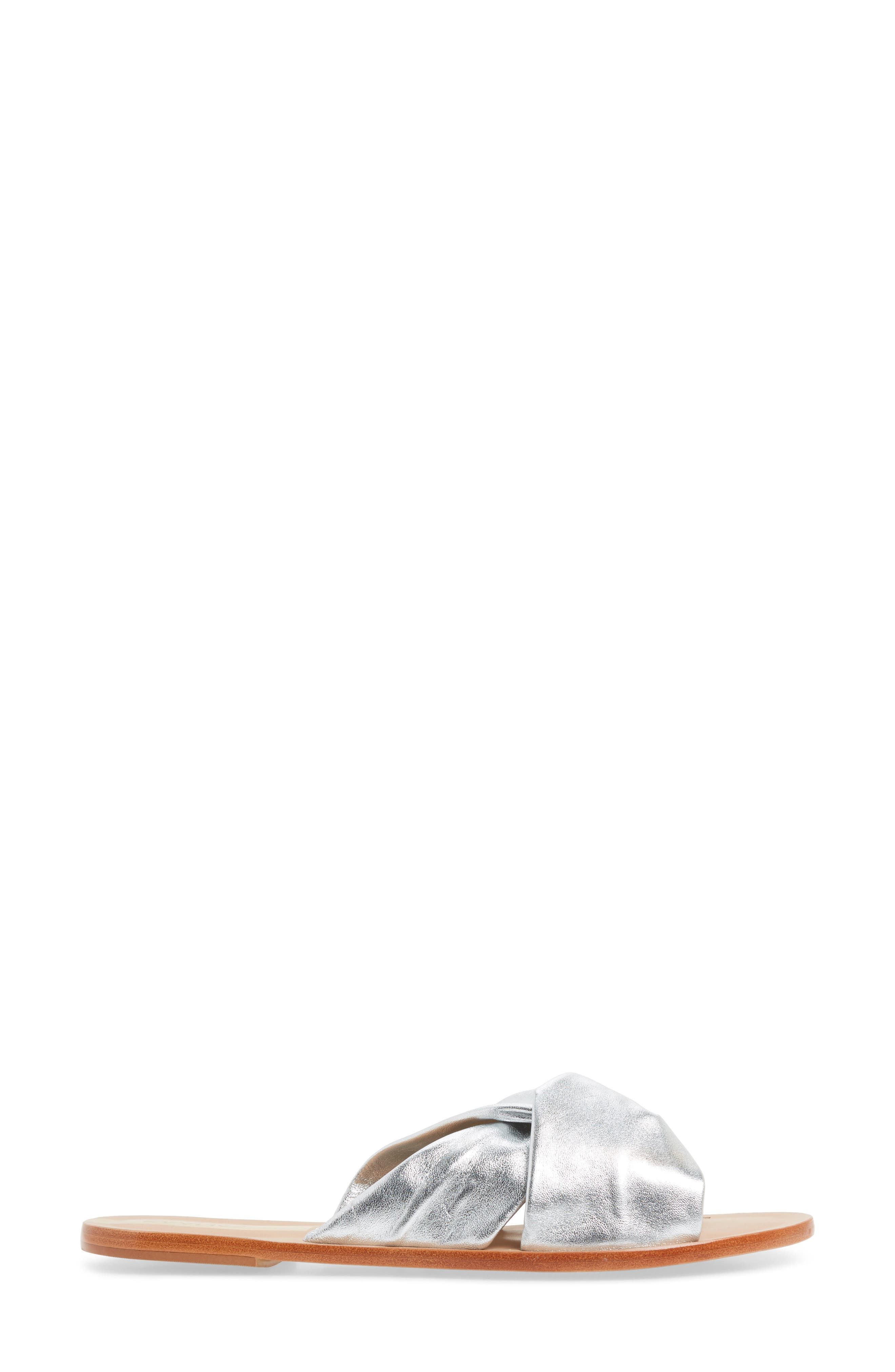 Belem Looped Slide Sandal,                             Alternate thumbnail 3, color,                             040