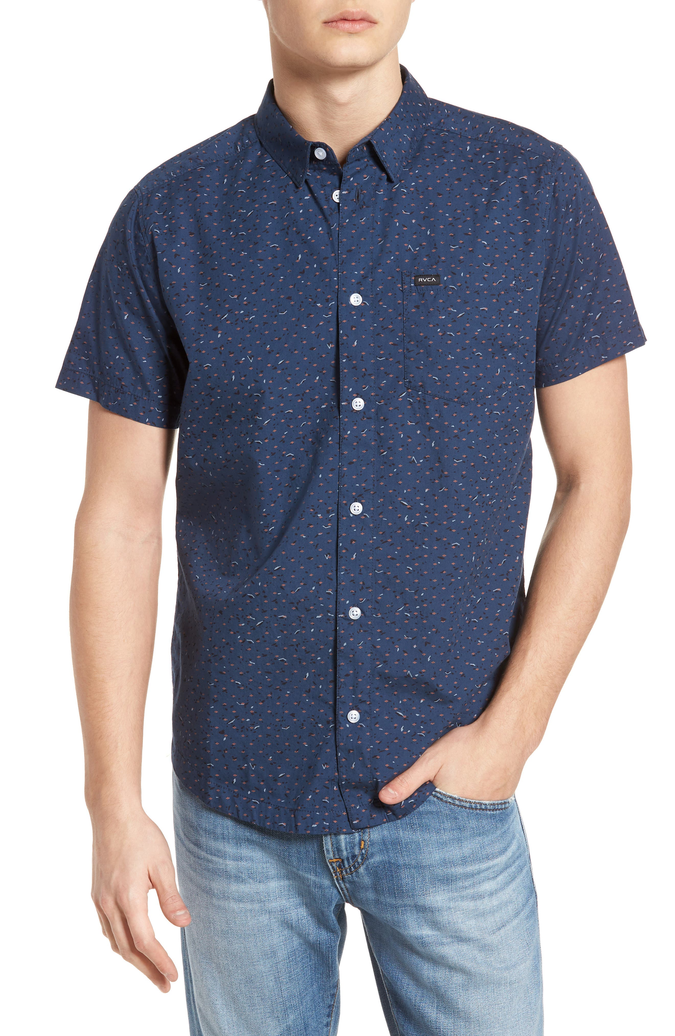 Jaded Woven Shirt,                             Main thumbnail 1, color,                             487