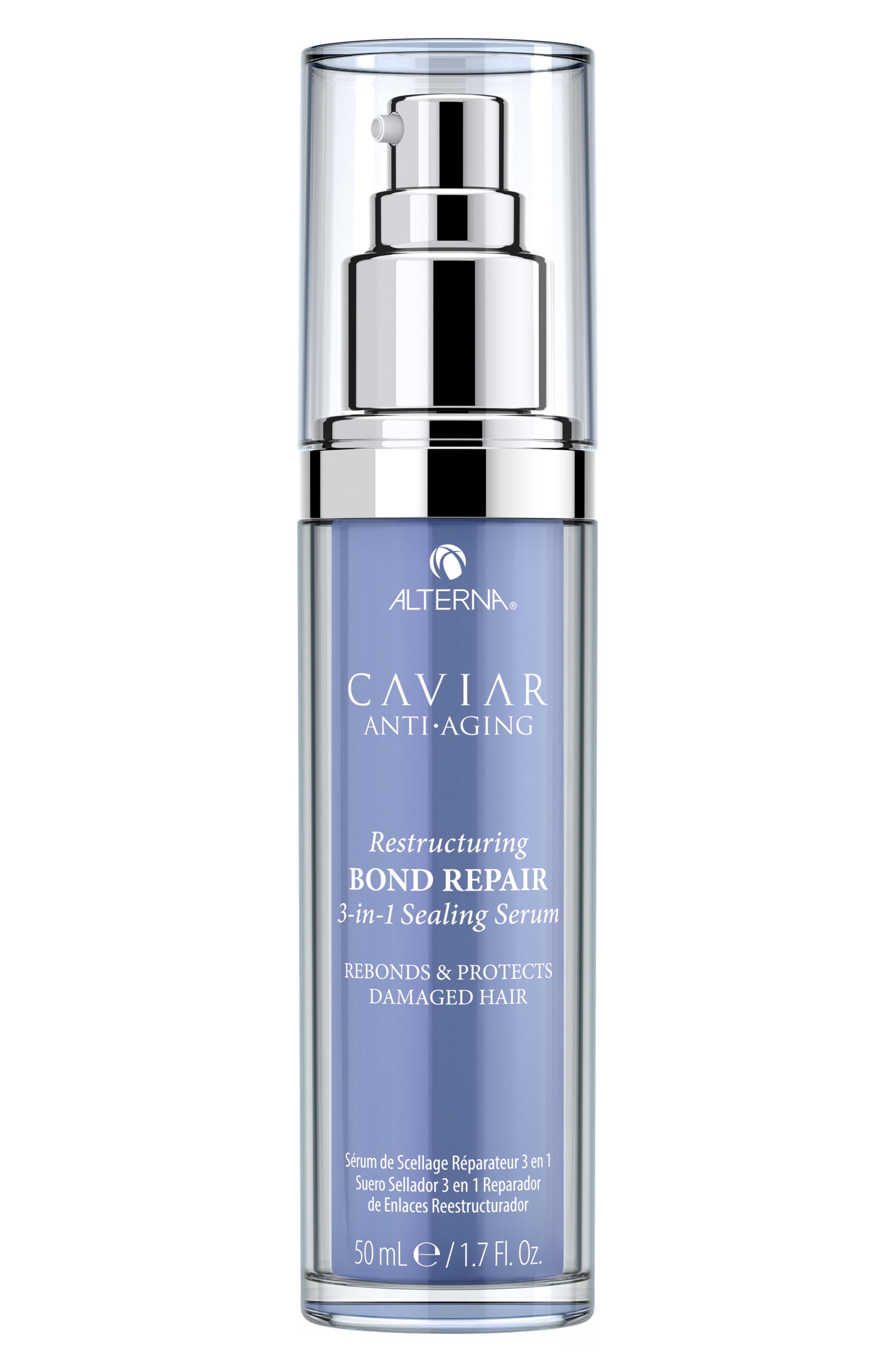 ALTERNA<SUP>®</SUP>,                             Caviar Anti-Aging Restructuring Bond Repair 3-in-1 Sealing Serum,                             Main thumbnail 1, color,                             000