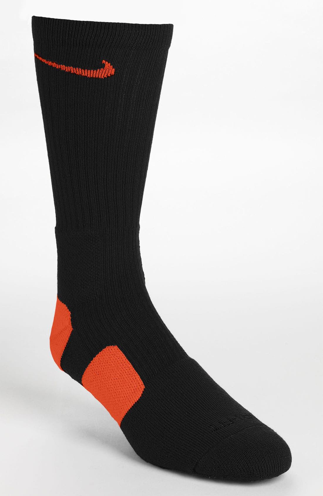 'Elite Basketball' Crew Socks,                             Main thumbnail 17, color,