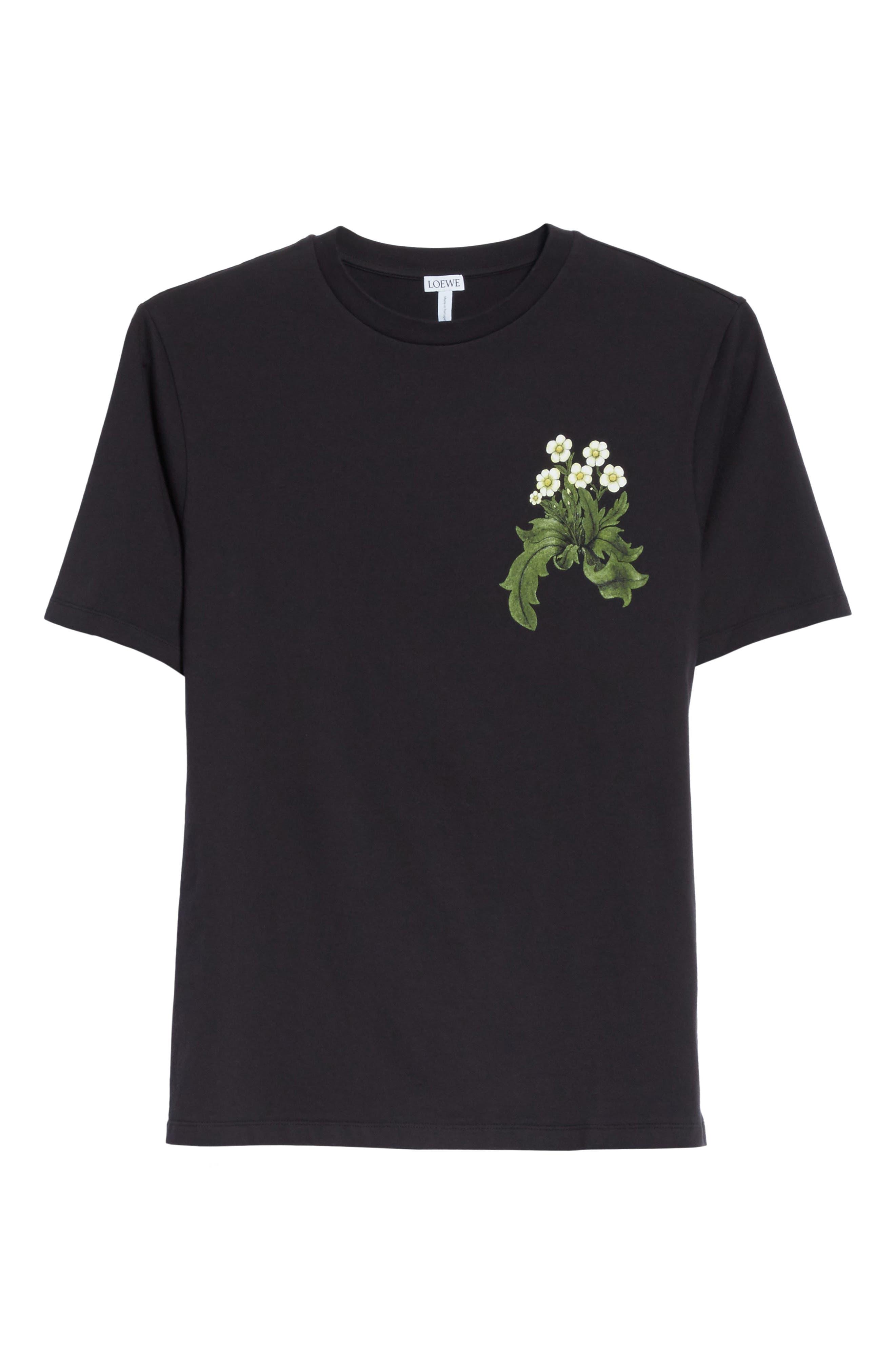 Loewe & Co. Graphic T-Shirt,                             Alternate thumbnail 6, color,                             001