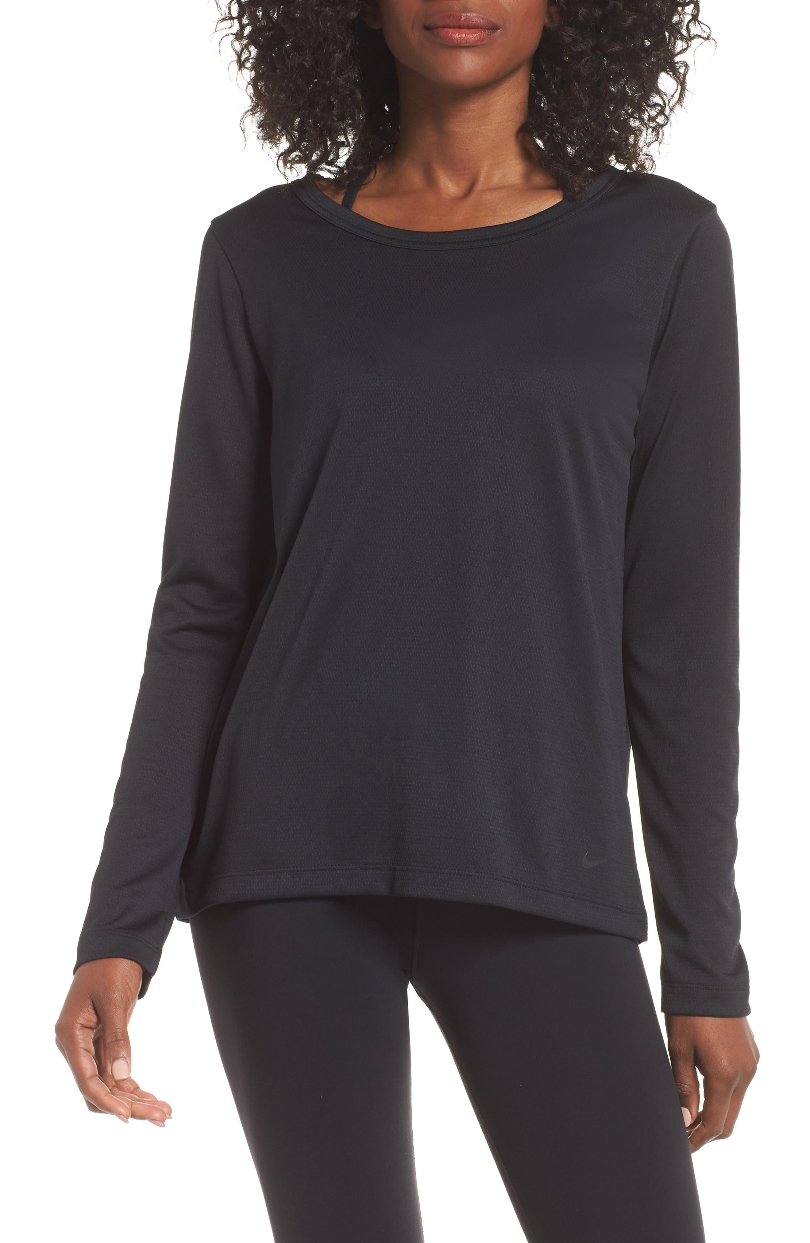 Elastika Top, Main, color, BLACK/ BLACK