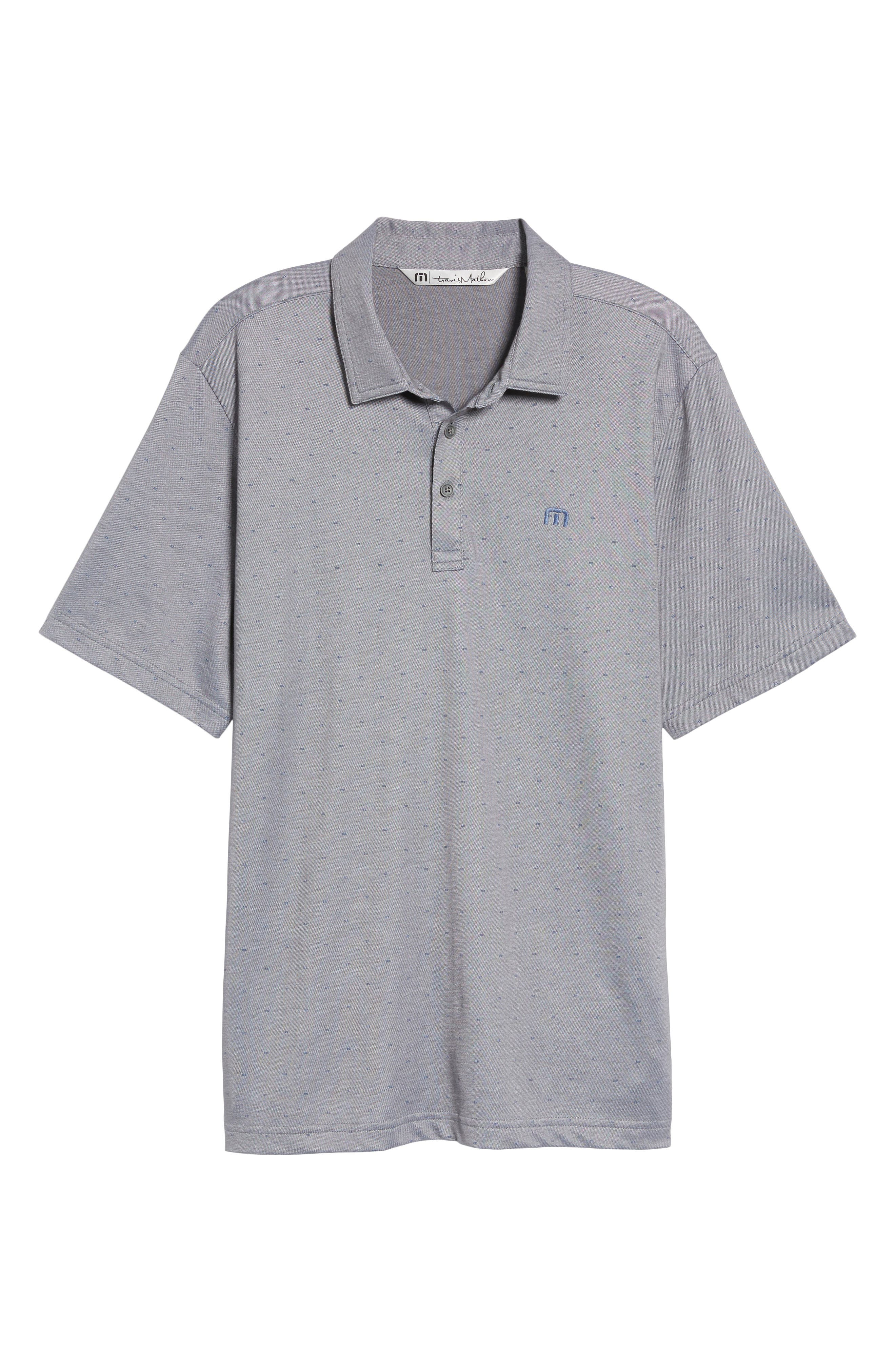 Thackerson Jacquard Piqué Polo,                             Alternate thumbnail 6, color,                             021
