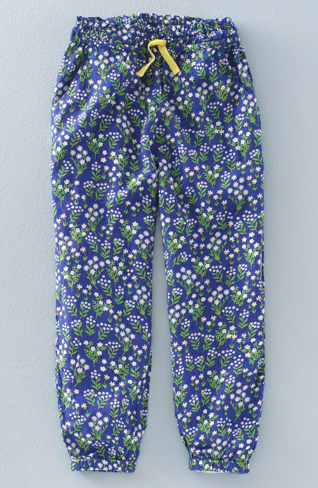 'Pretty' Floral Print Pants,                             Main thumbnail 1, color,                             404