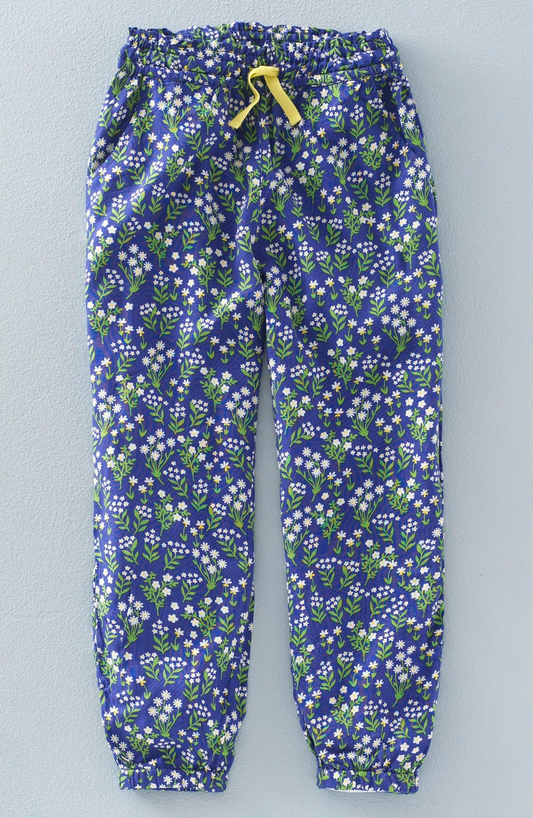 'Pretty' Floral Print Pants, Main, color, 404