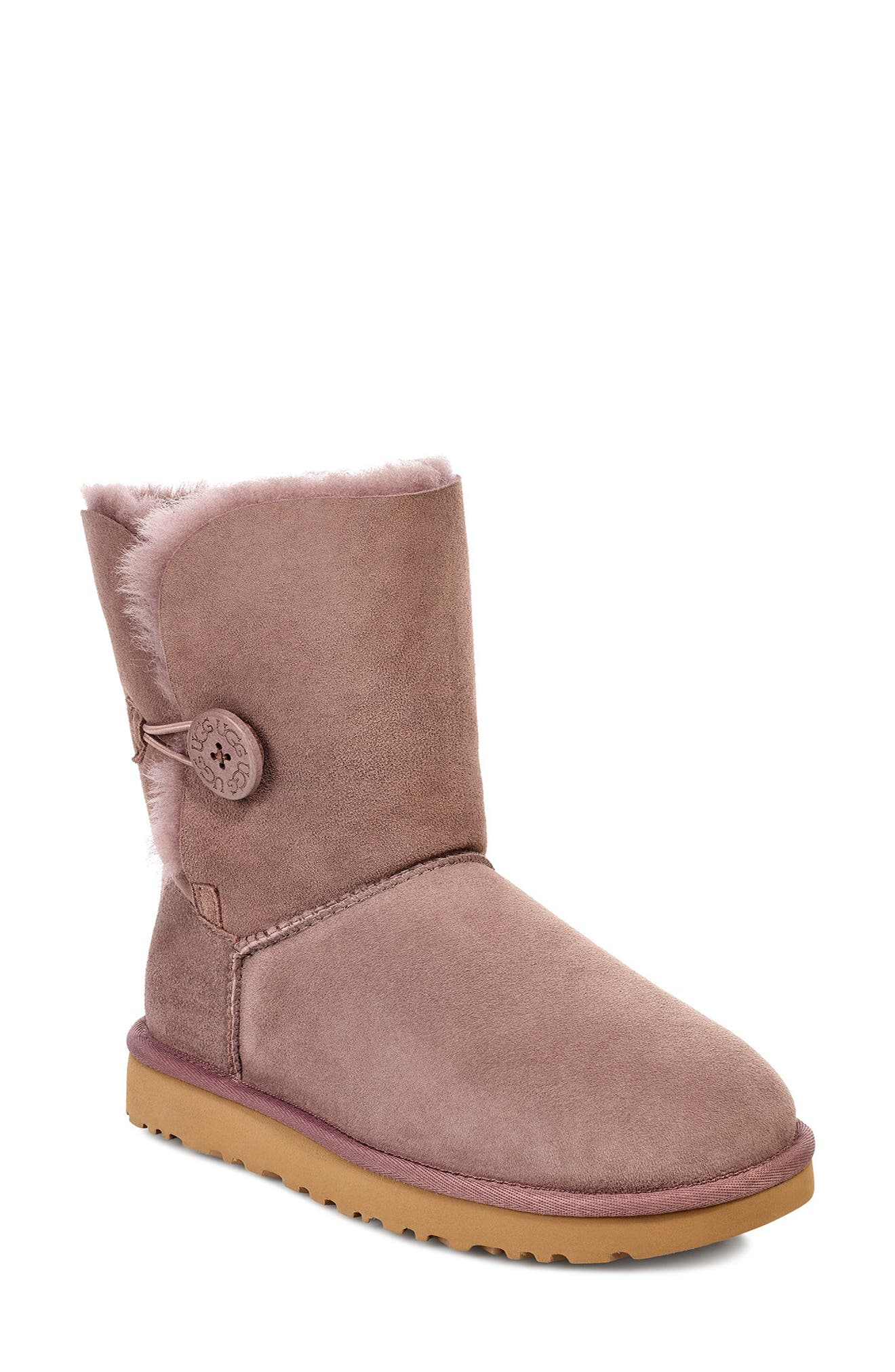 'Bailey Button II' Boot,                             Main thumbnail 1, color,                             STORMY GREY SUEDE