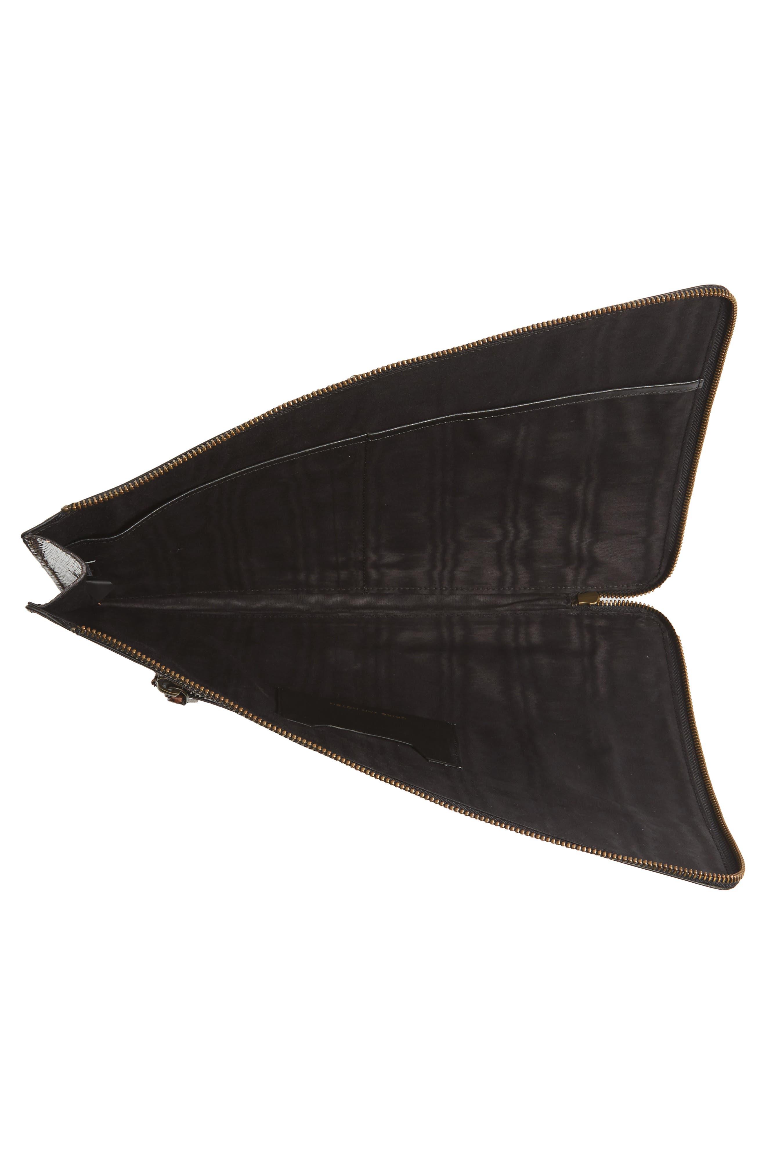 Leather Laptop Sleeve,                             Alternate thumbnail 2, color,                             200
