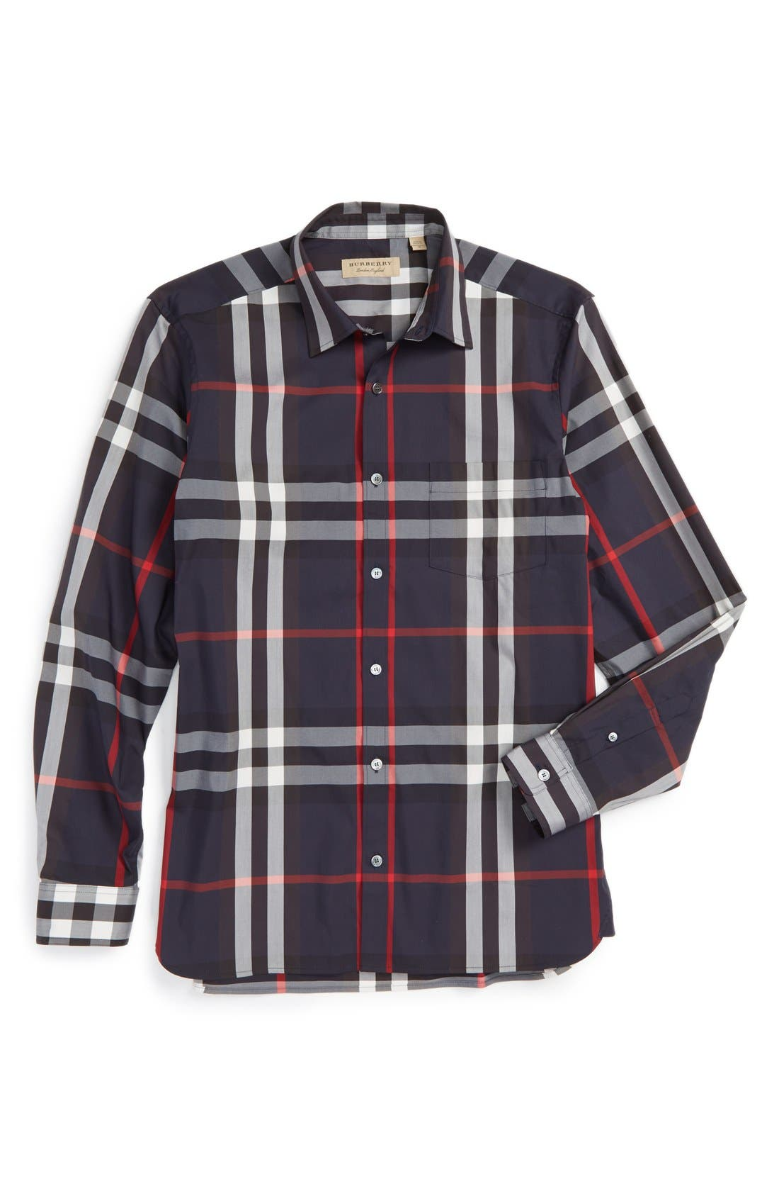 Nelson Check Sport Shirt,                             Main thumbnail 14, color,