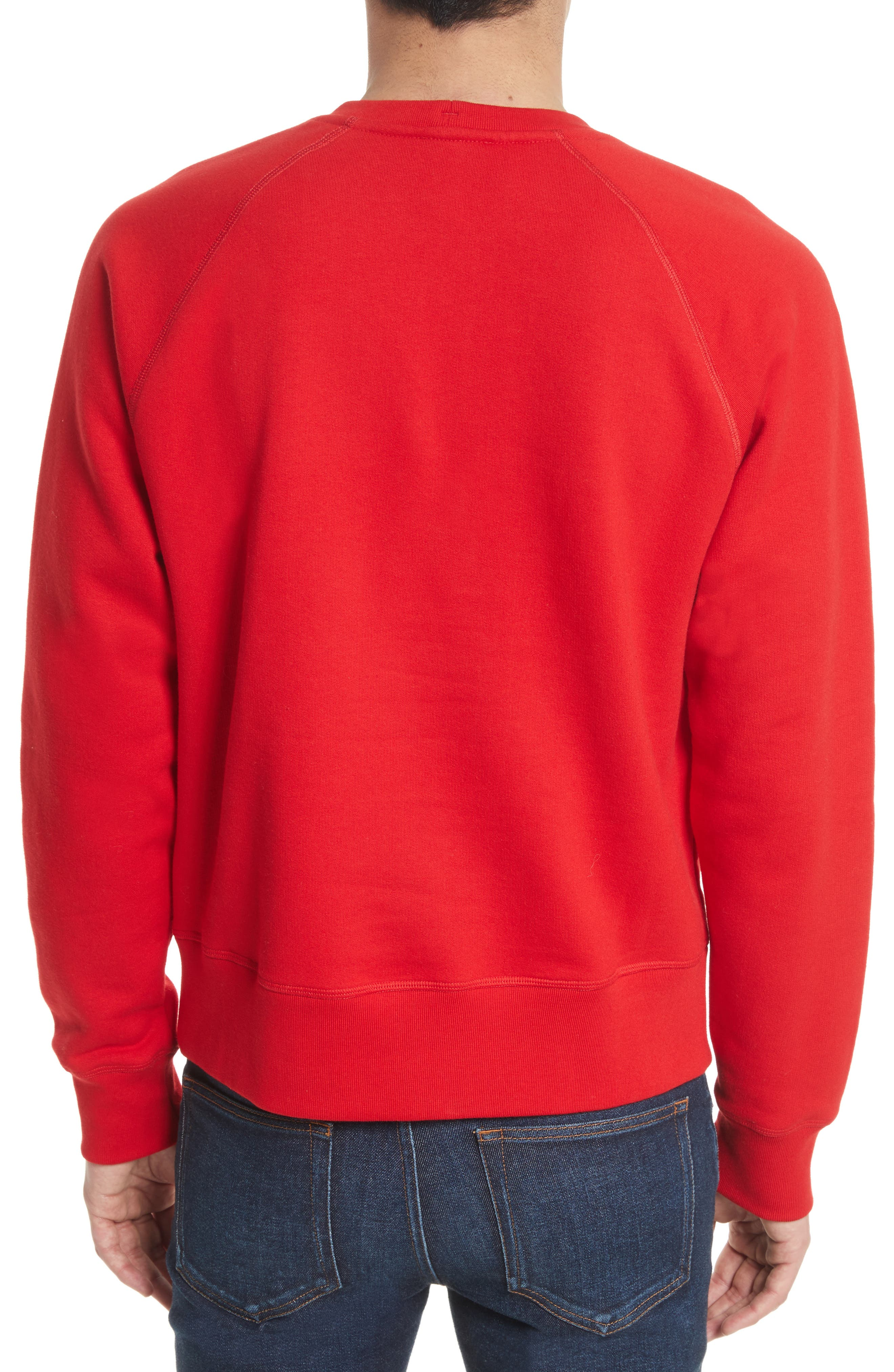 Grenoble Logo Patch Sweatshirt,                             Alternate thumbnail 2, color,                             610