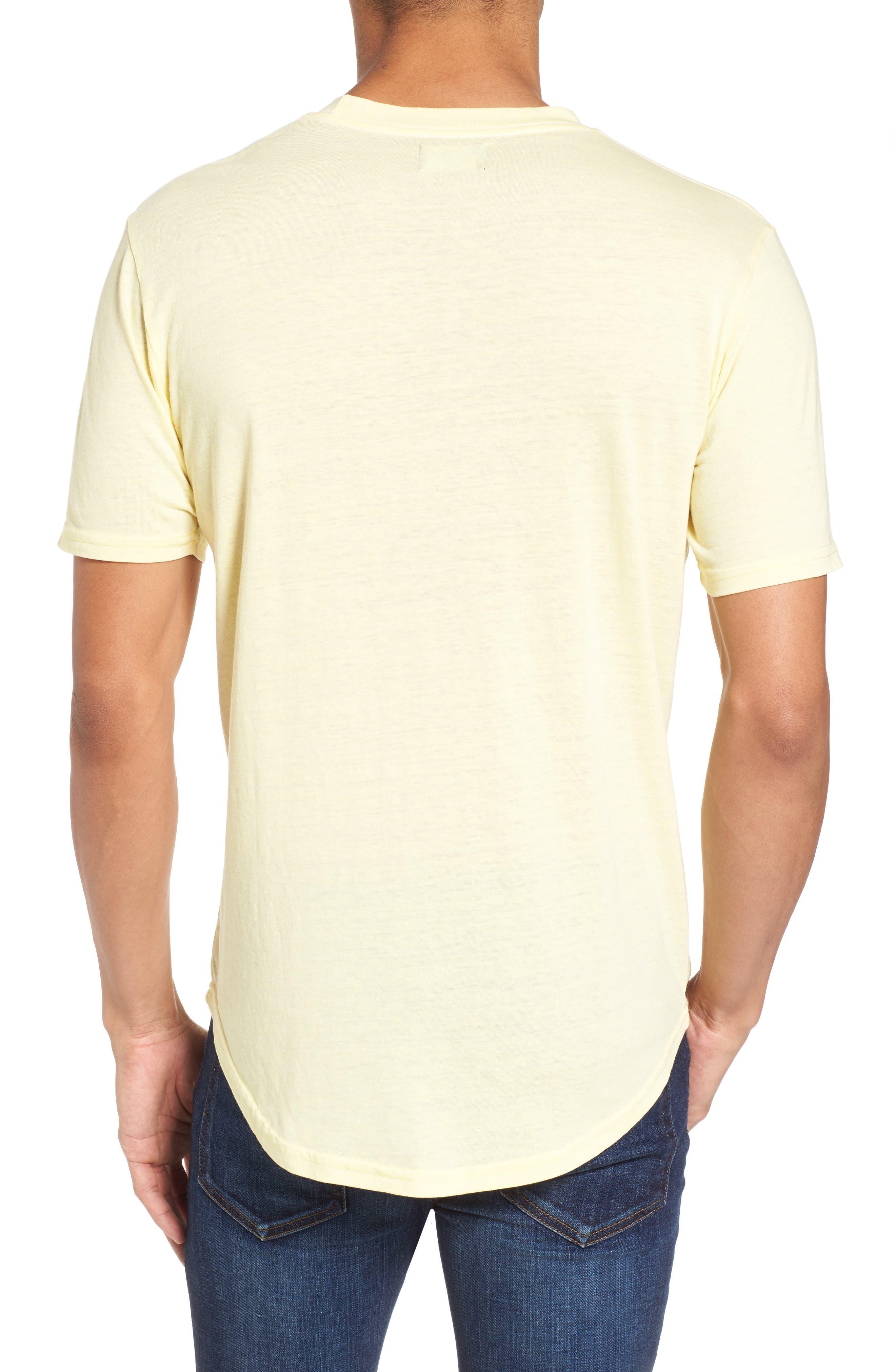 Scallop Triblend Crewneck T-Shirt,                             Alternate thumbnail 25, color,