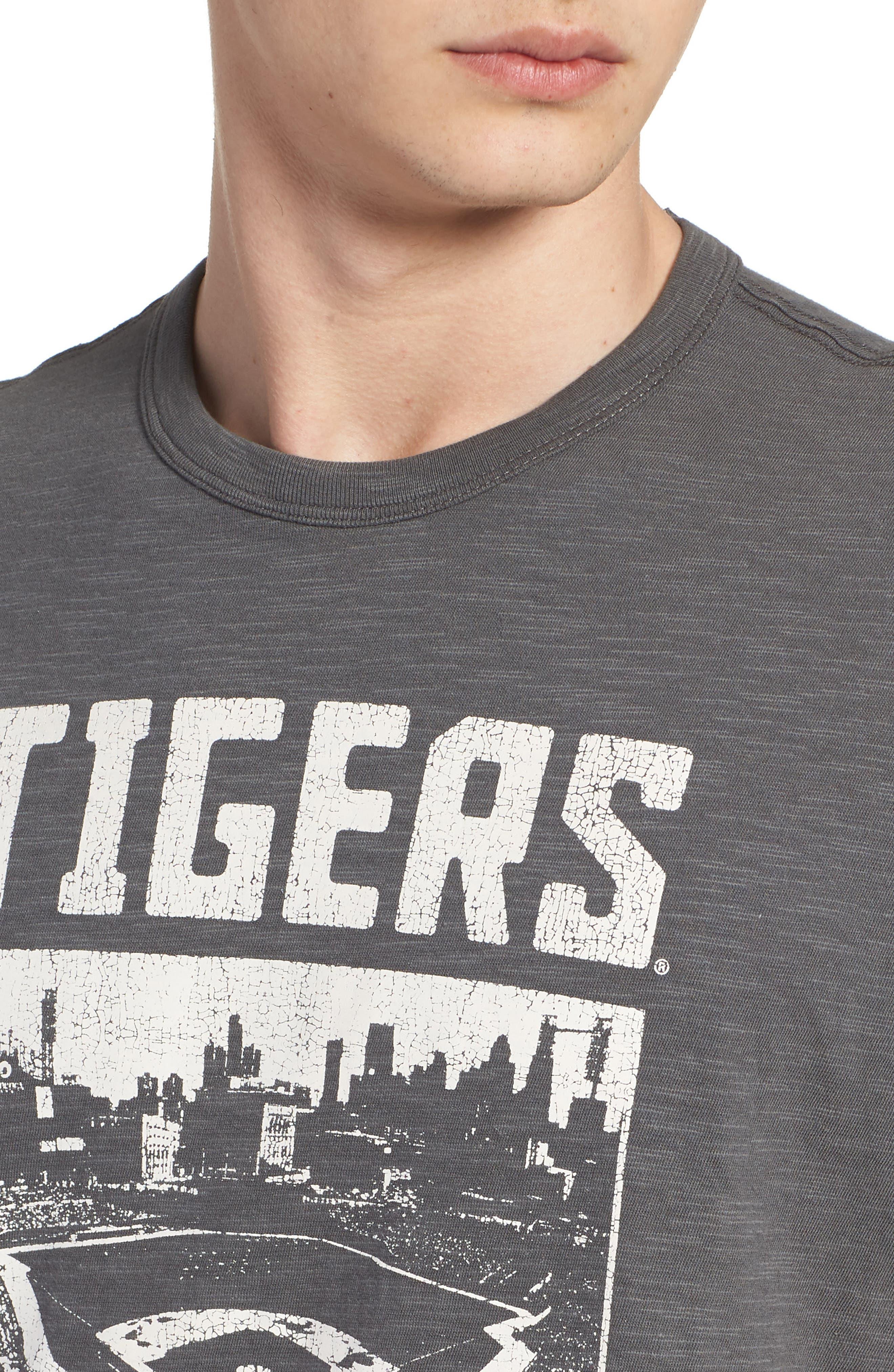 MLB Overdrive Scrum Detroit Tigers T-Shirt,                             Alternate thumbnail 4, color,                             SUBMARINE