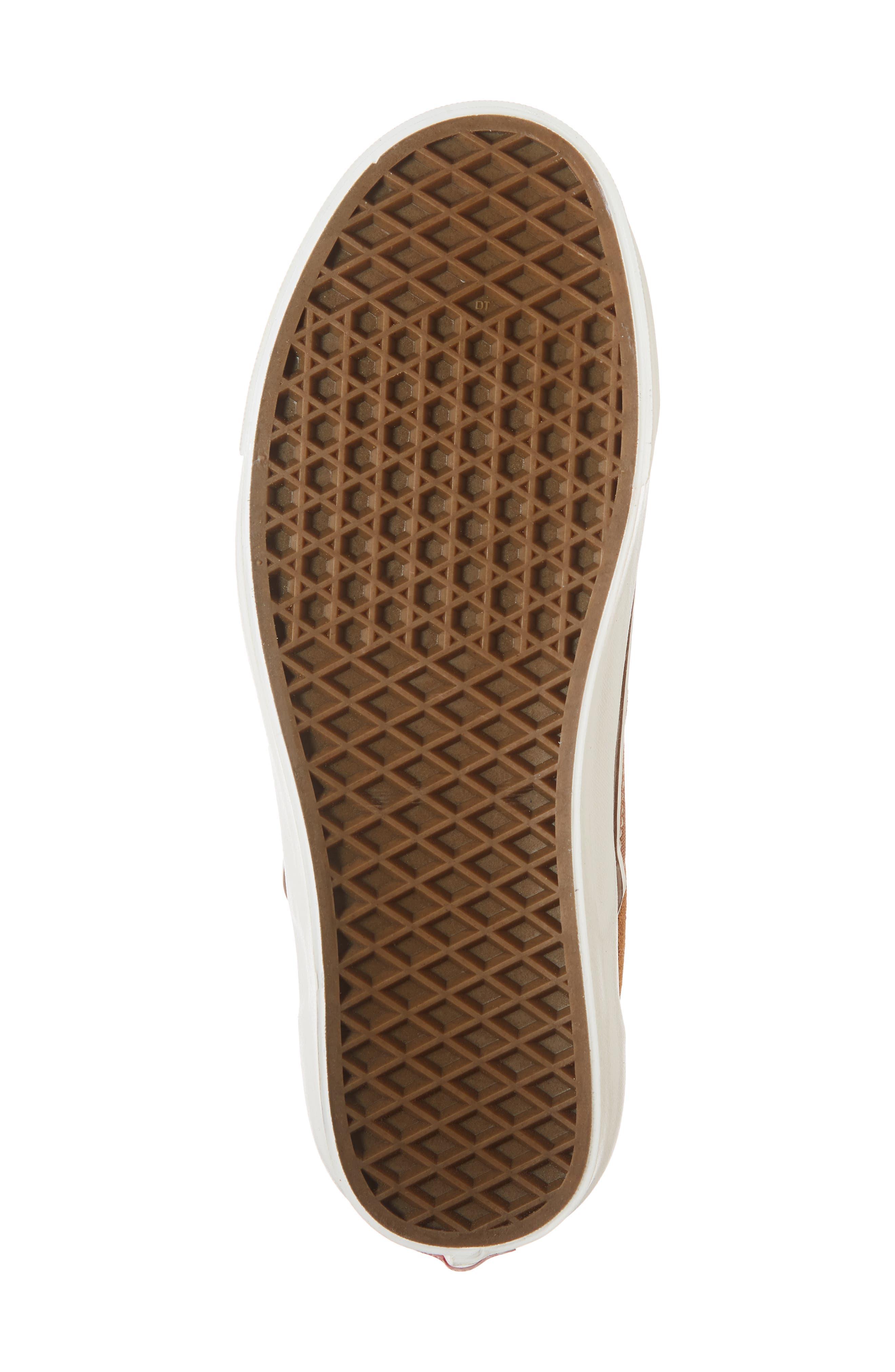 Classic 98 DX Slip-On Sneaker,                             Alternate thumbnail 6, color,                             BROWN/ CORDUROY