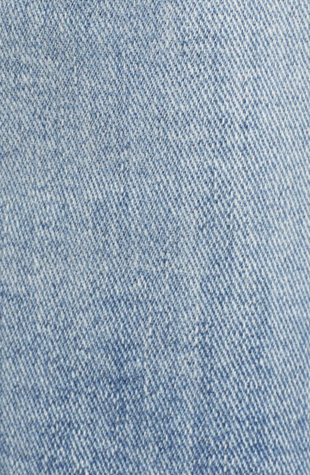 VIGOSS,                             Jagger Ripped Skinny Jeans,                             Alternate thumbnail 6, color,                             LIGHT WASH