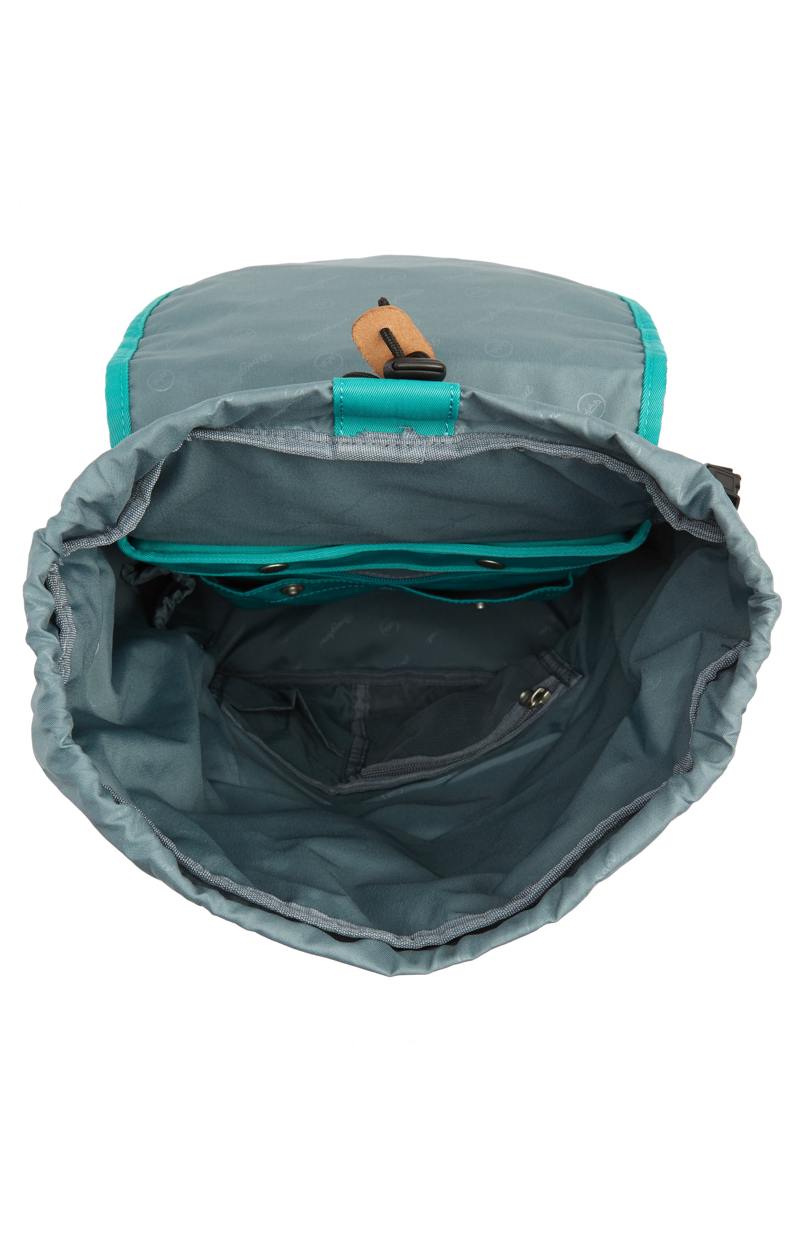 Montana Water Repellent Backpack,                             Alternate thumbnail 4, color,                             MINT