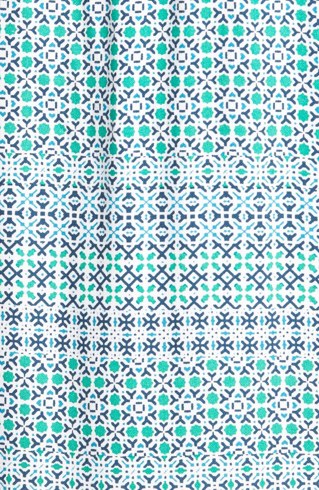 ELLA MOSS,                             'Mozaic' Short Sleeve Shift Dress,                             Alternate thumbnail 2, color,                             300
