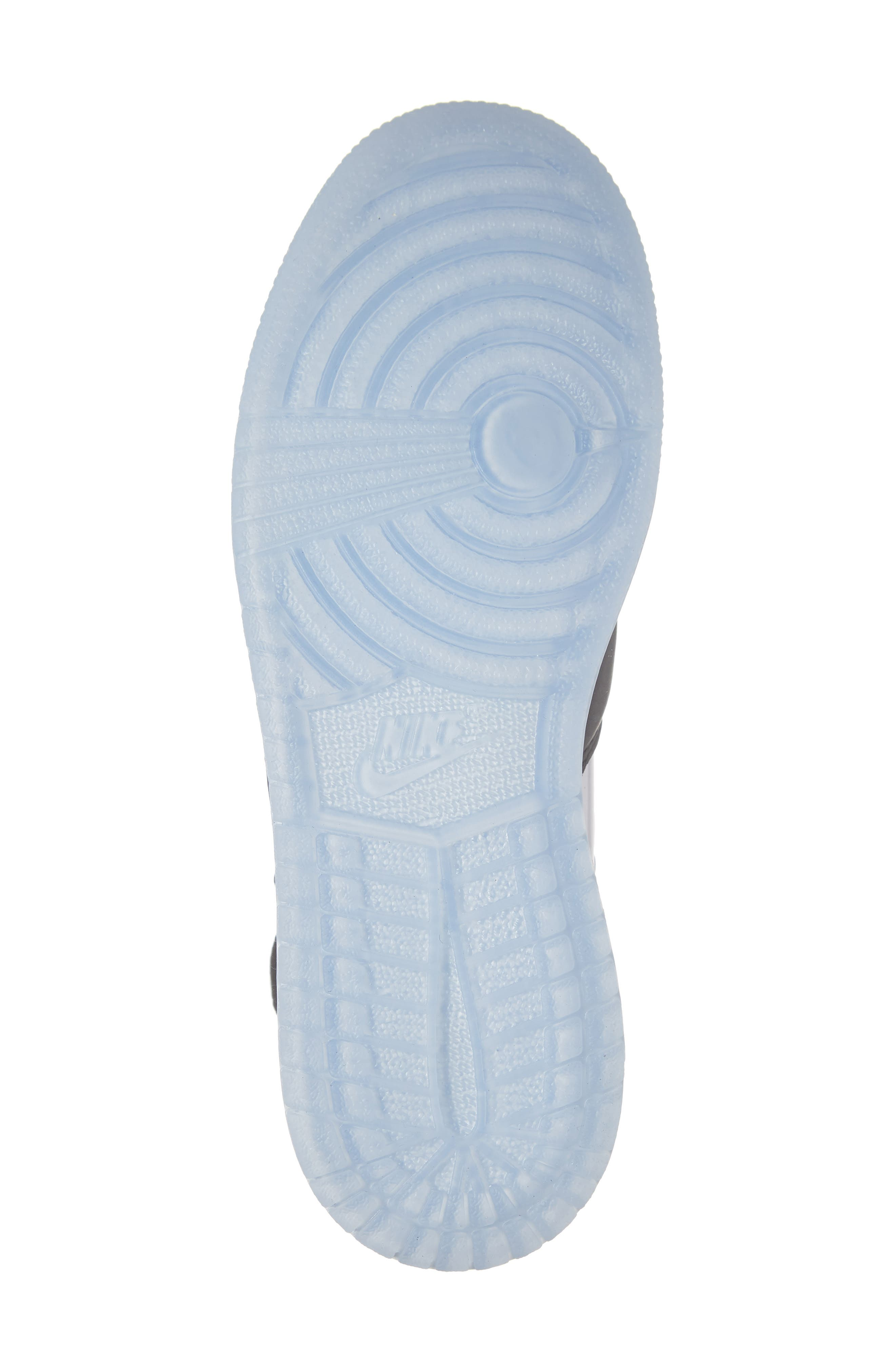 Air Jordan 1 Rebel XX High Top Sneaker,                             Alternate thumbnail 6, color,                             BLACK/ BLACK