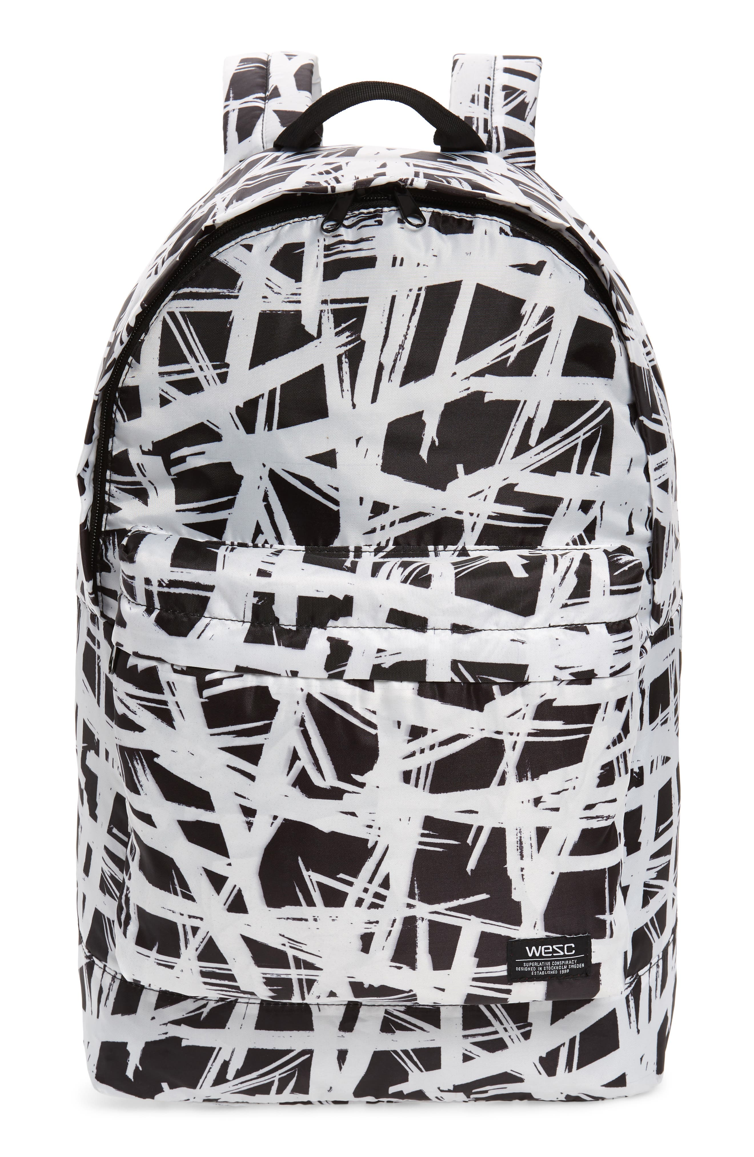 Wesc Chaz Abstract Backpack - Black