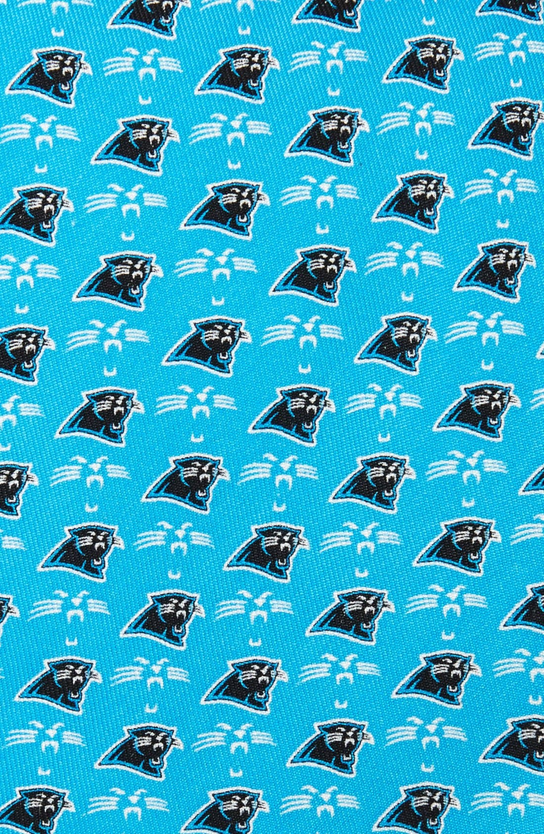 Carolina Panthers - NFL Woven Silk Tie,                             Alternate thumbnail 2, color,                             453