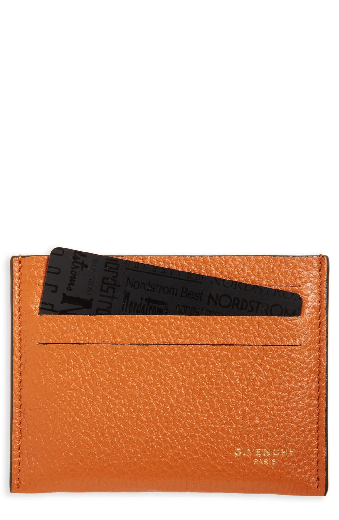 Leather Card Case,                             Main thumbnail 3, color,