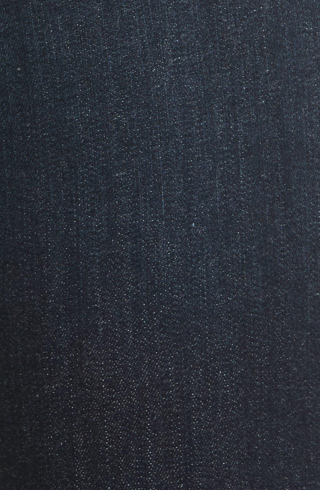 'Le High Flare' Jeans,                             Alternate thumbnail 6, color,                             401