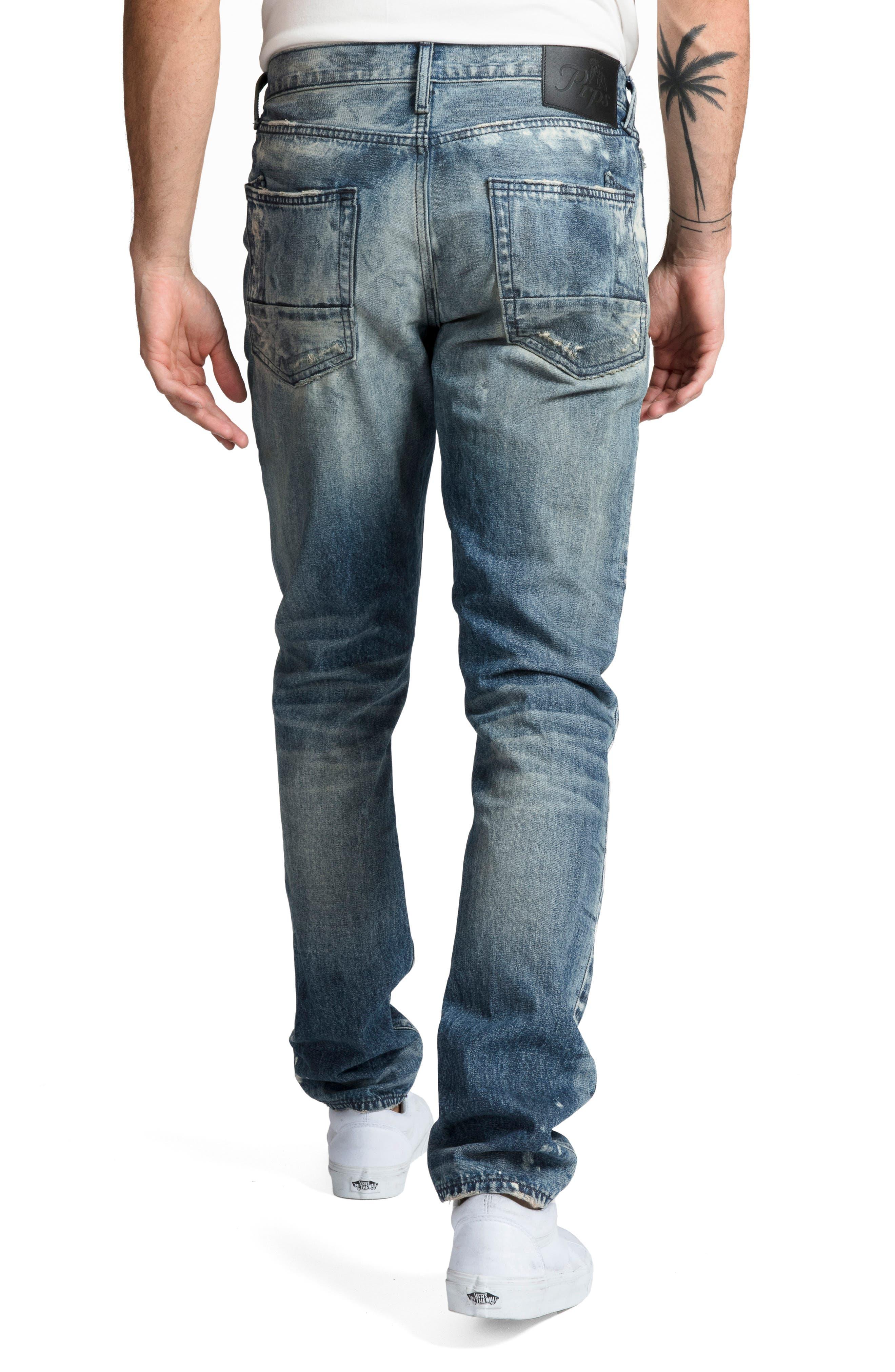 Le Sabre Slim Fit Jeans,                             Alternate thumbnail 2, color,                             MELODIC