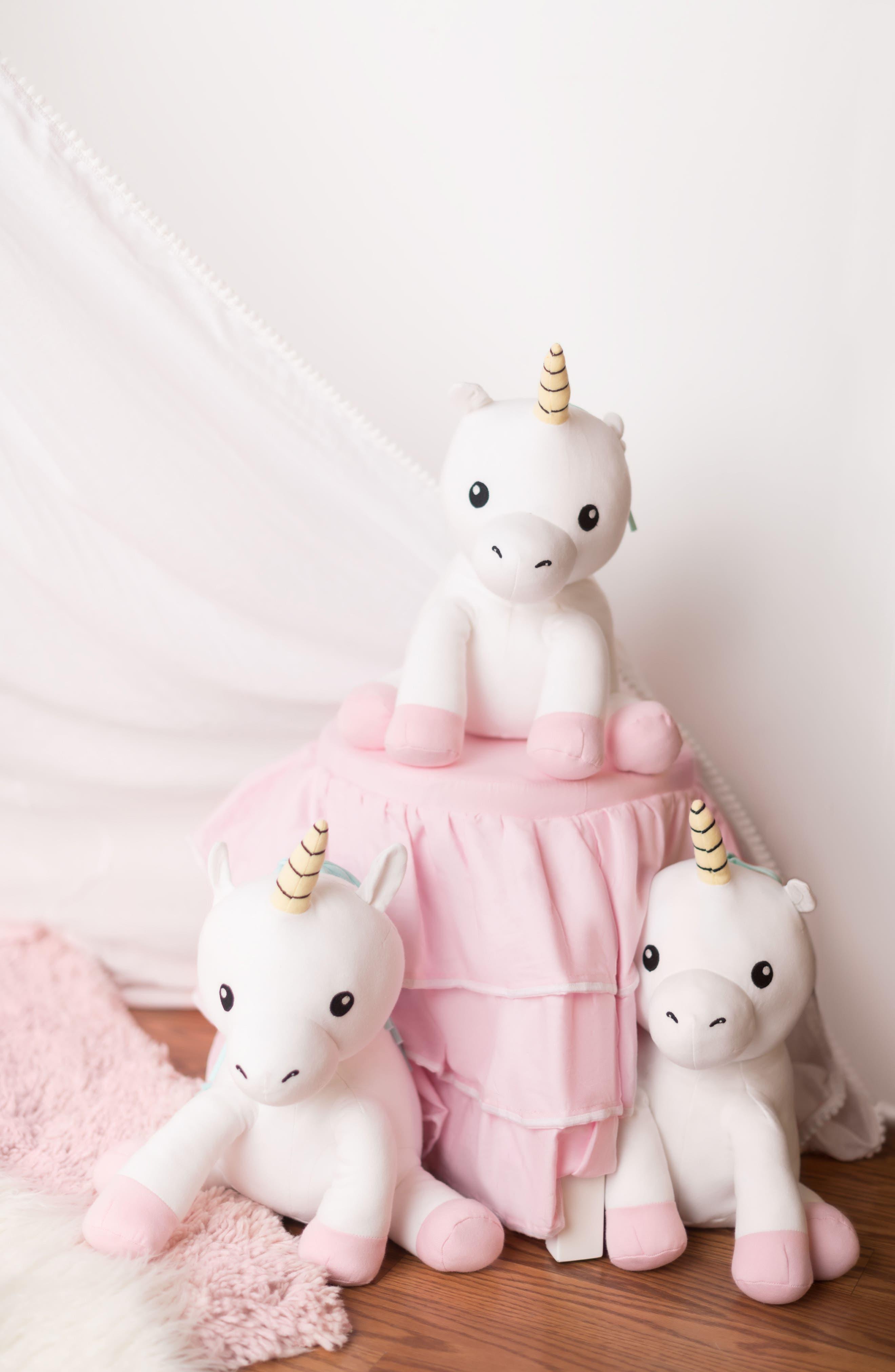 Cupcake Unicorn Stuffed Animal,                             Alternate thumbnail 7, color,                             100