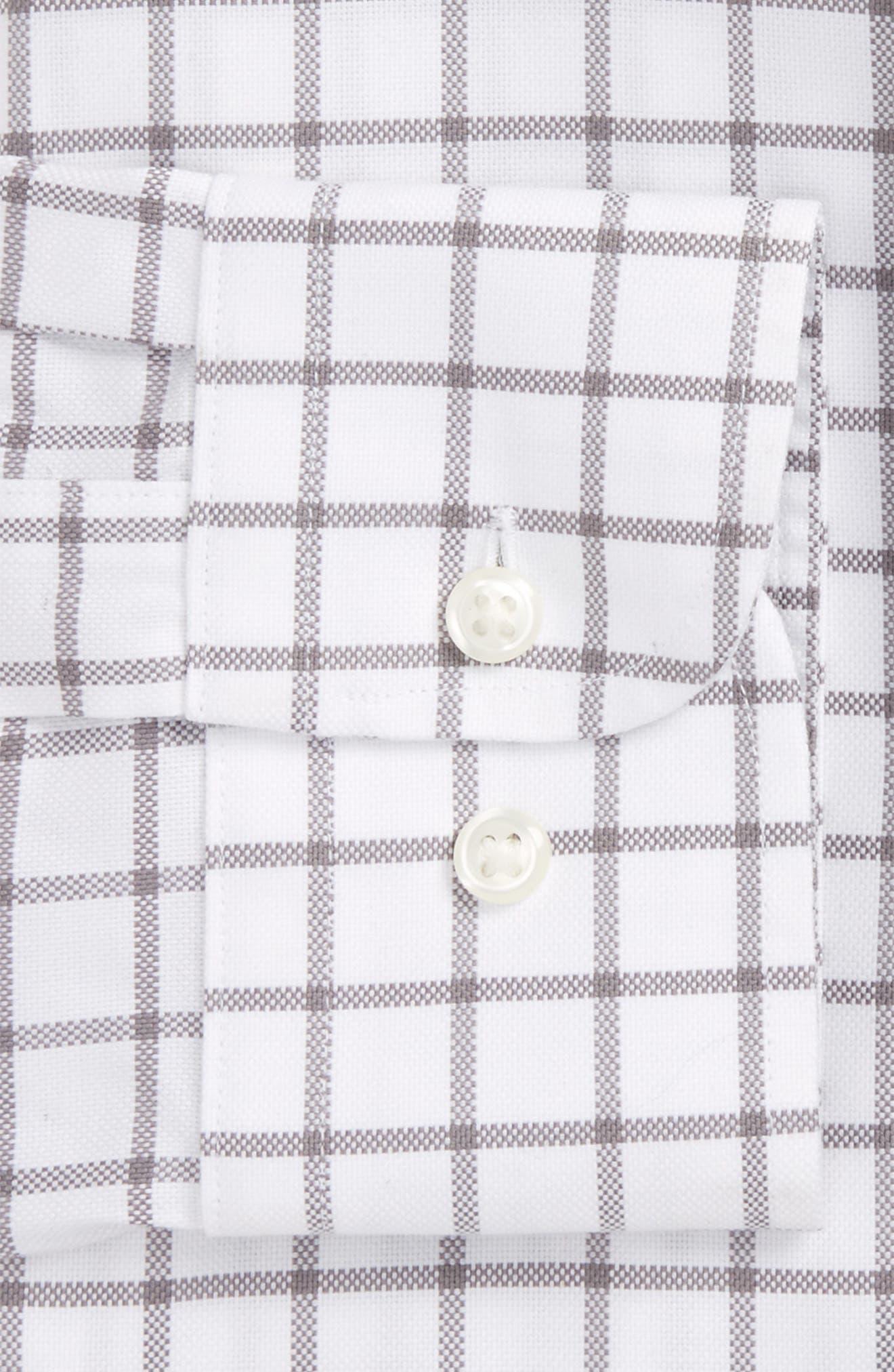 Smartcare<sup>™</sup> Extra Trim Fit Check Dress Shirt, Main, color, 040